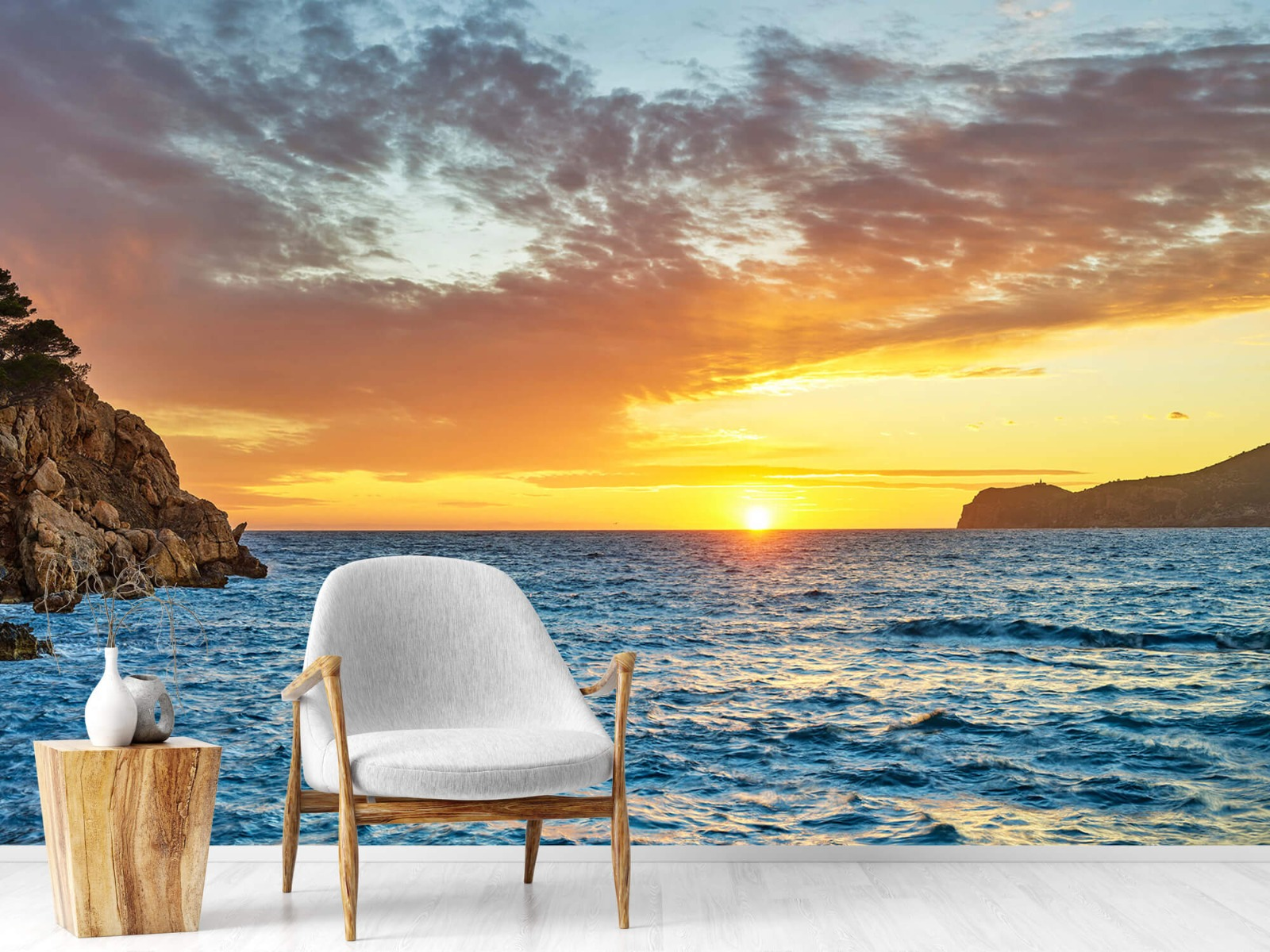 Zon - Zonsondergang op een eiland - Slaapkamer 18