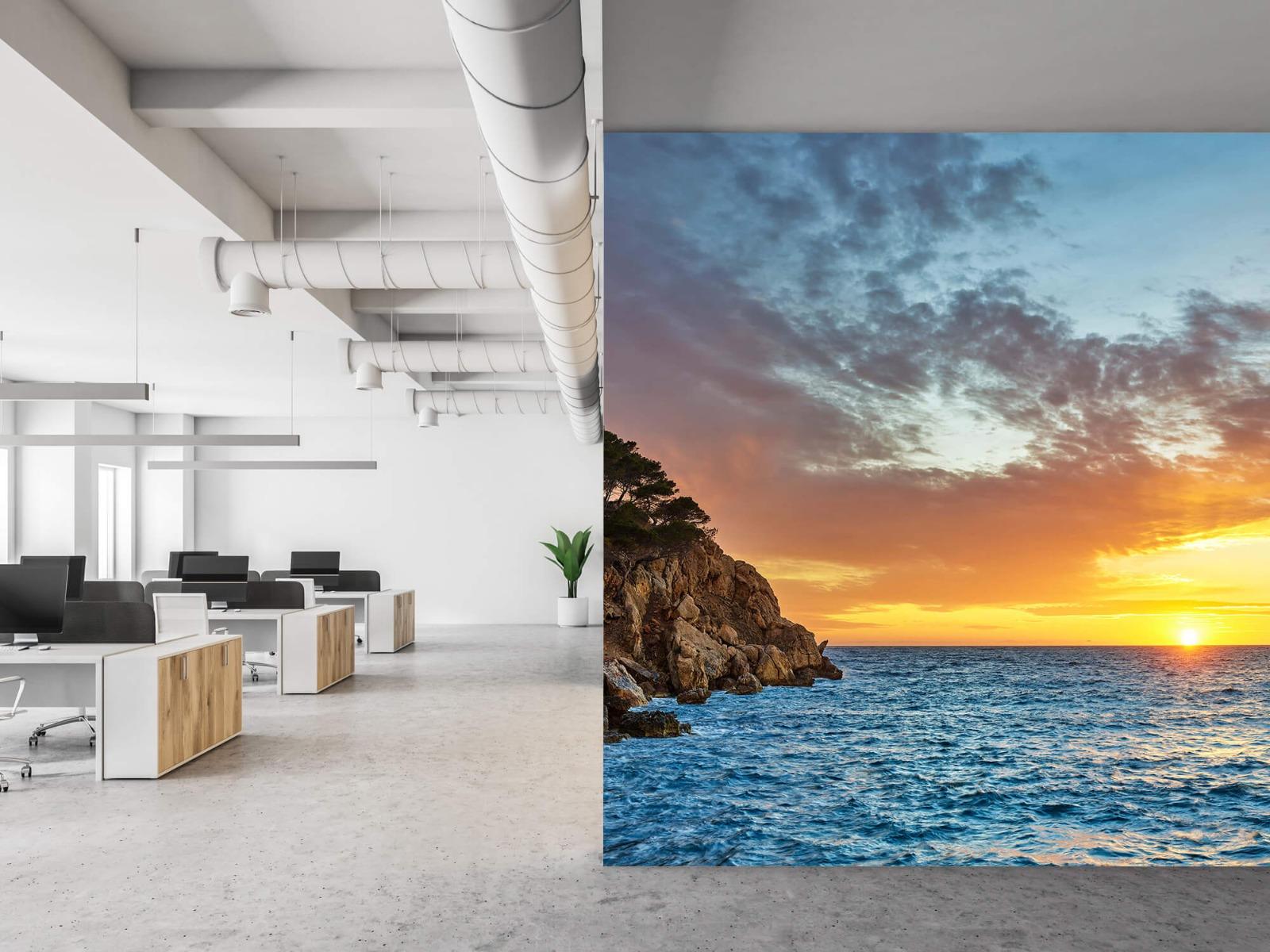 Zon - Zonsondergang op een eiland - Slaapkamer 21