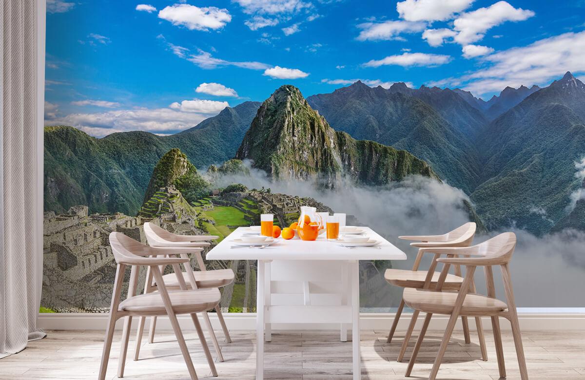 Bergen - Machu Picchu in de mist - Slaapkamer 1