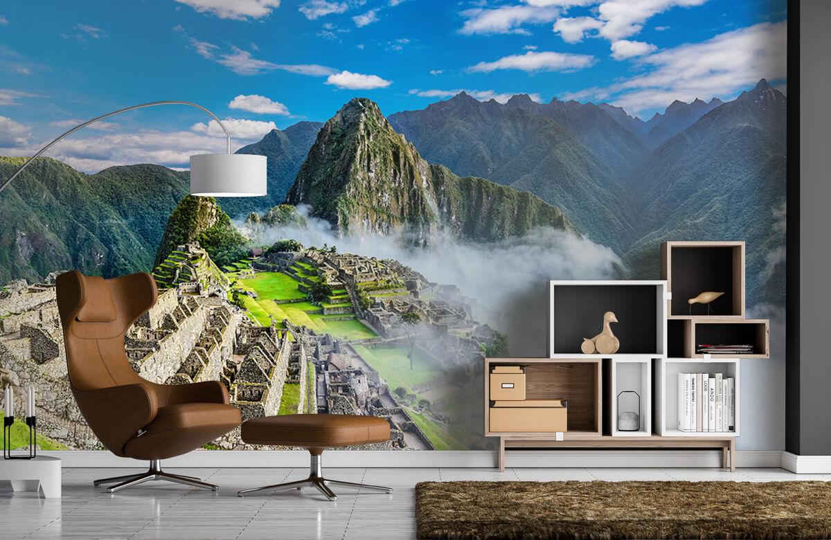 Bergen - Machu Picchu in de mist - Slaapkamer 4