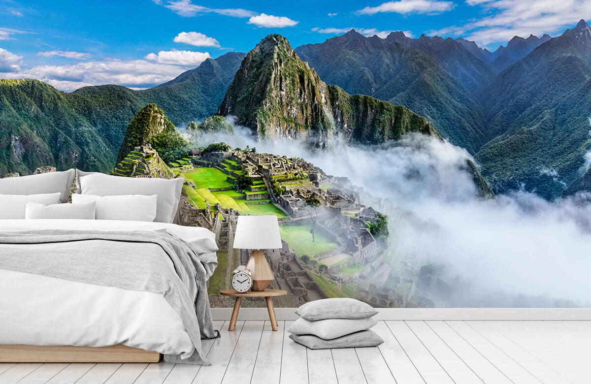 Bergen - Machu Picchu in de mist - Slaapkamer 7