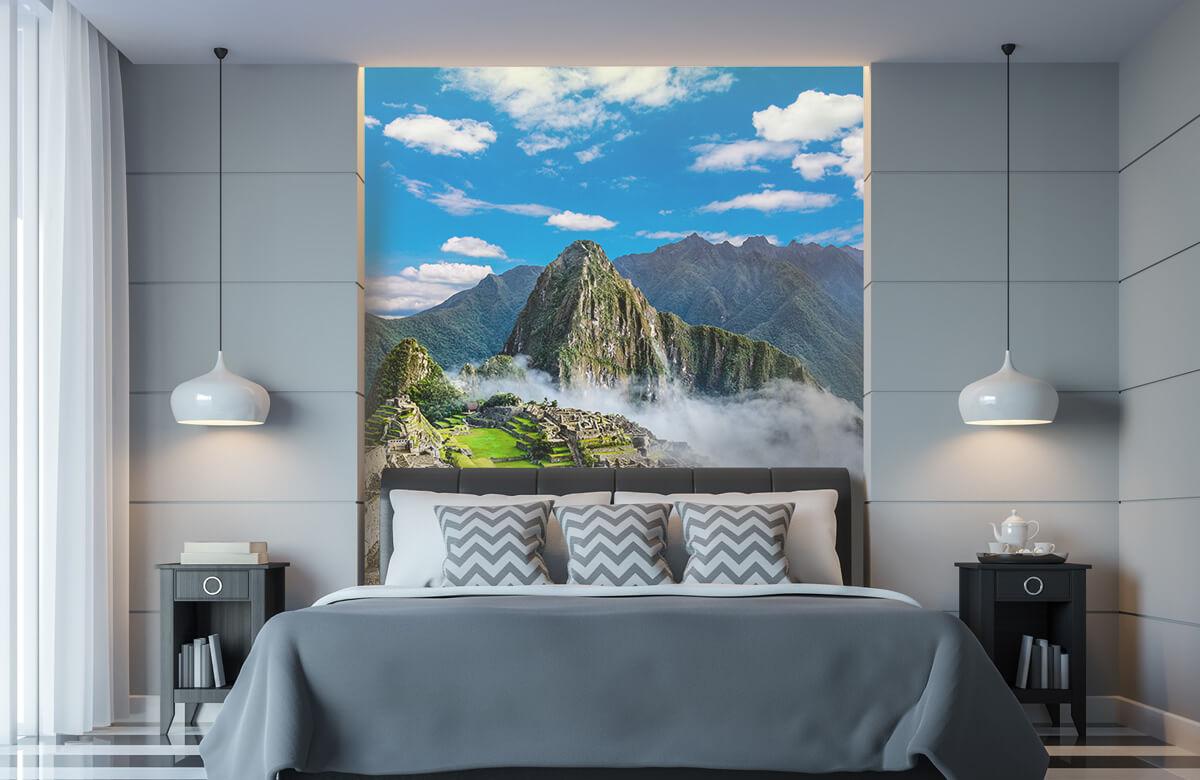 Bergen - Machu Picchu in de mist - Slaapkamer 8