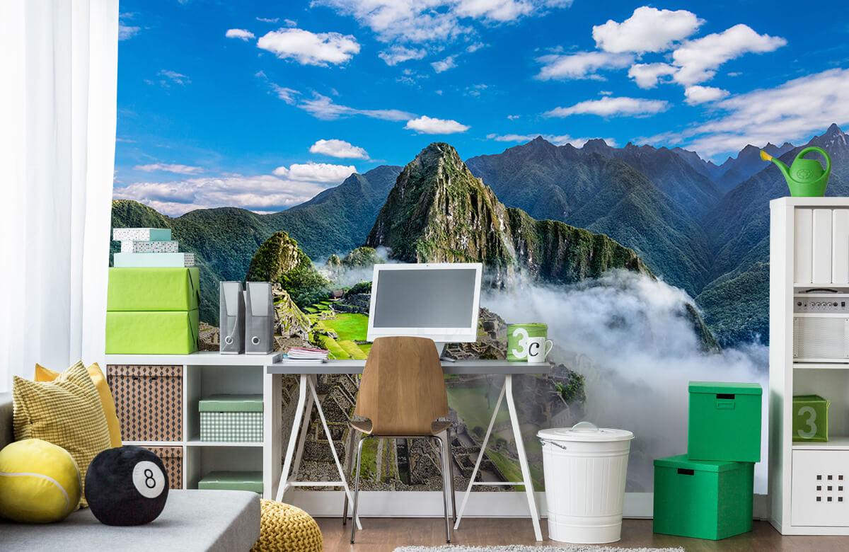 Bergen - Machu Picchu in de mist - Slaapkamer 9