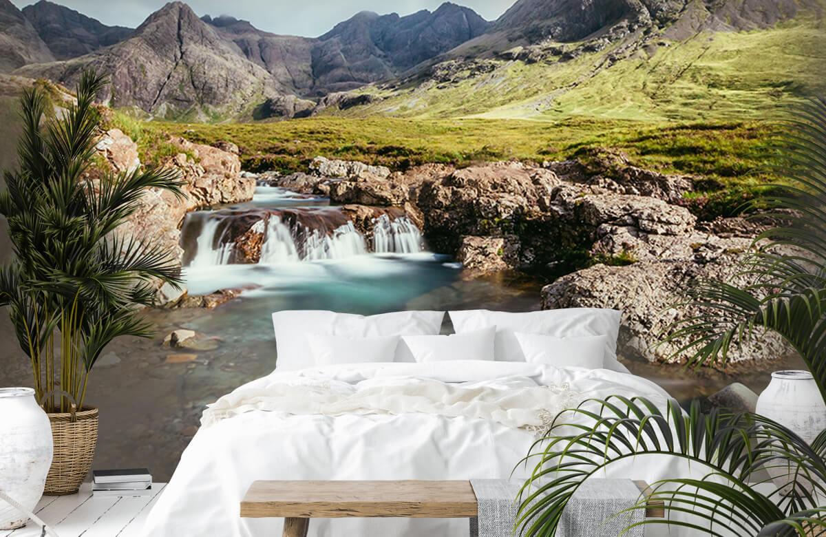 Watervallen - Schotse waterval - Slaapkamer 1