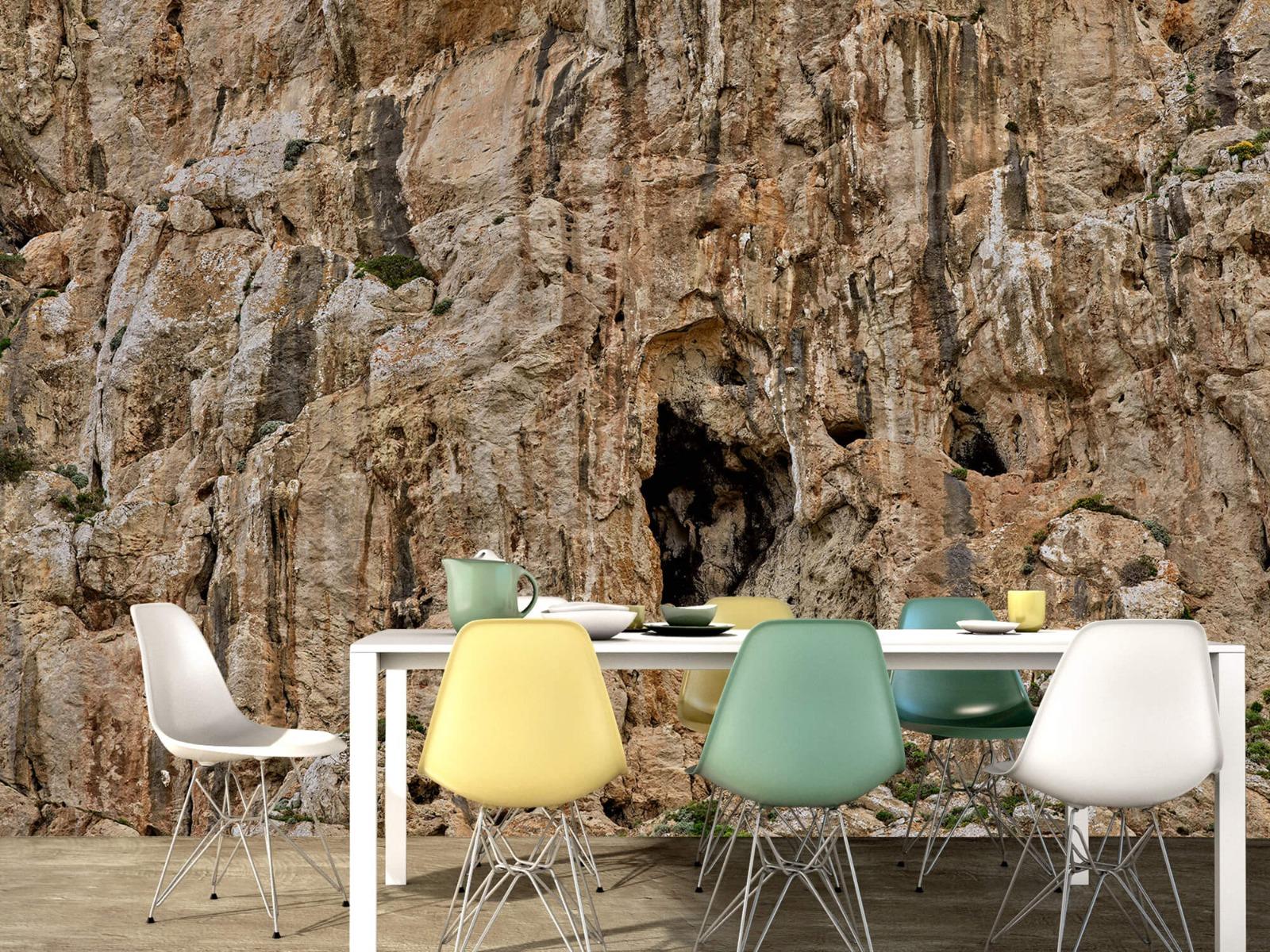 Bergen - Grot in een rots - Slaapkamer 1