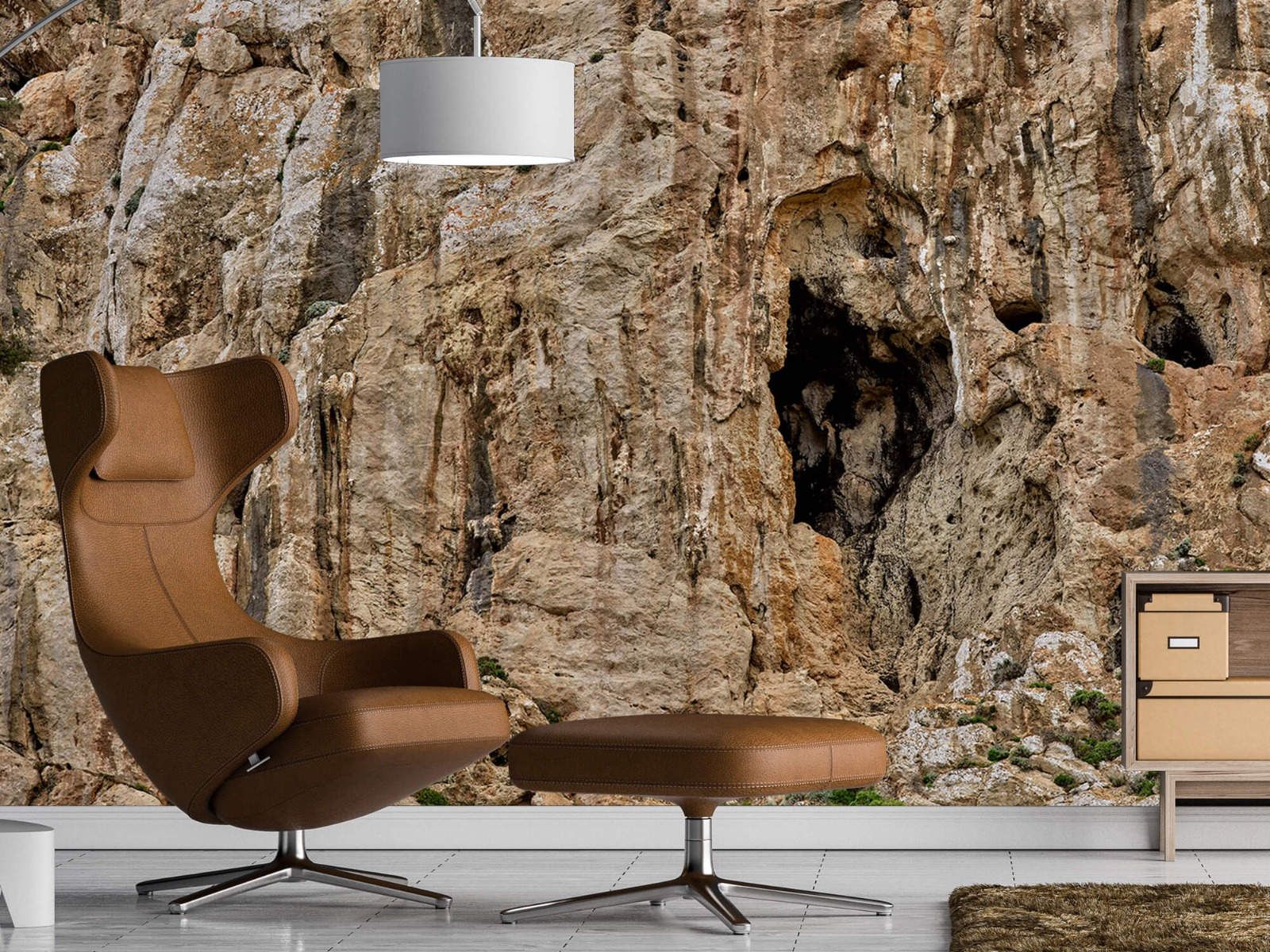 Bergen - Grot in een rots - Slaapkamer 19
