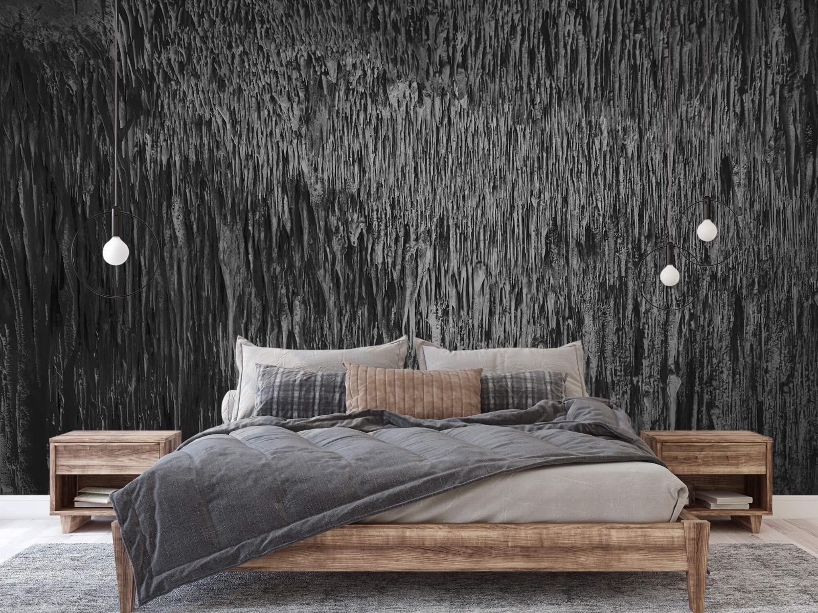 Zwart Wit behang - Druipstenen - Kantoor 2