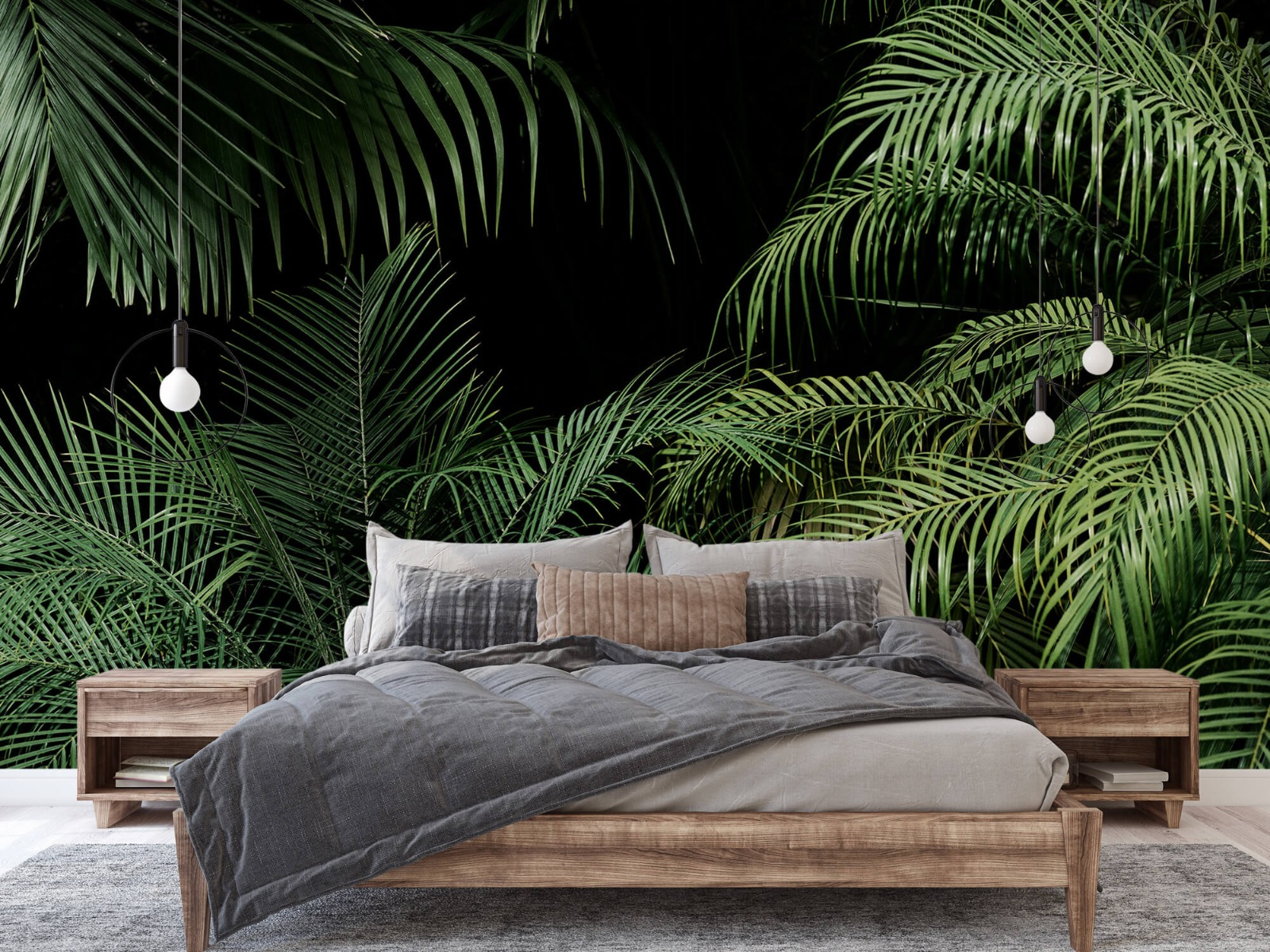 Bladeren - Plant met groene bladeren - Slaapkamer 2
