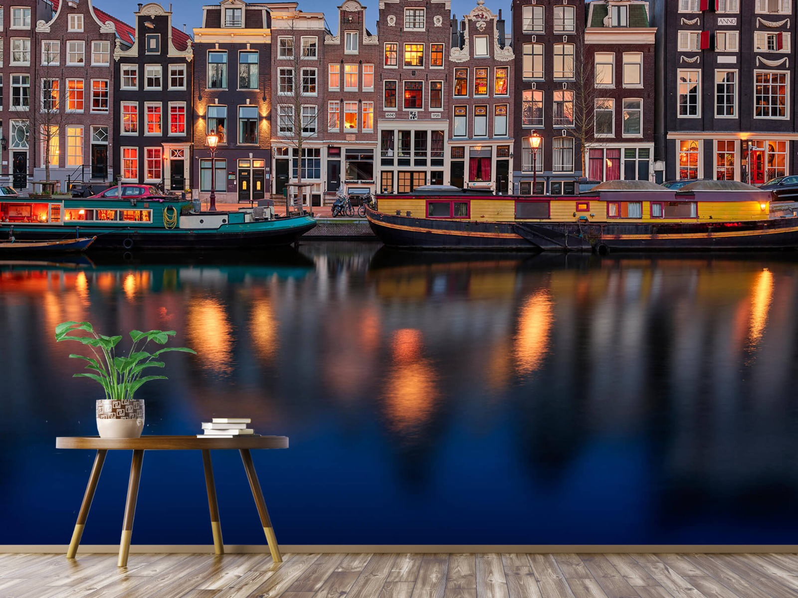 Architectuur - Grachtenpanden Amsterdam - Tienerkamer 4