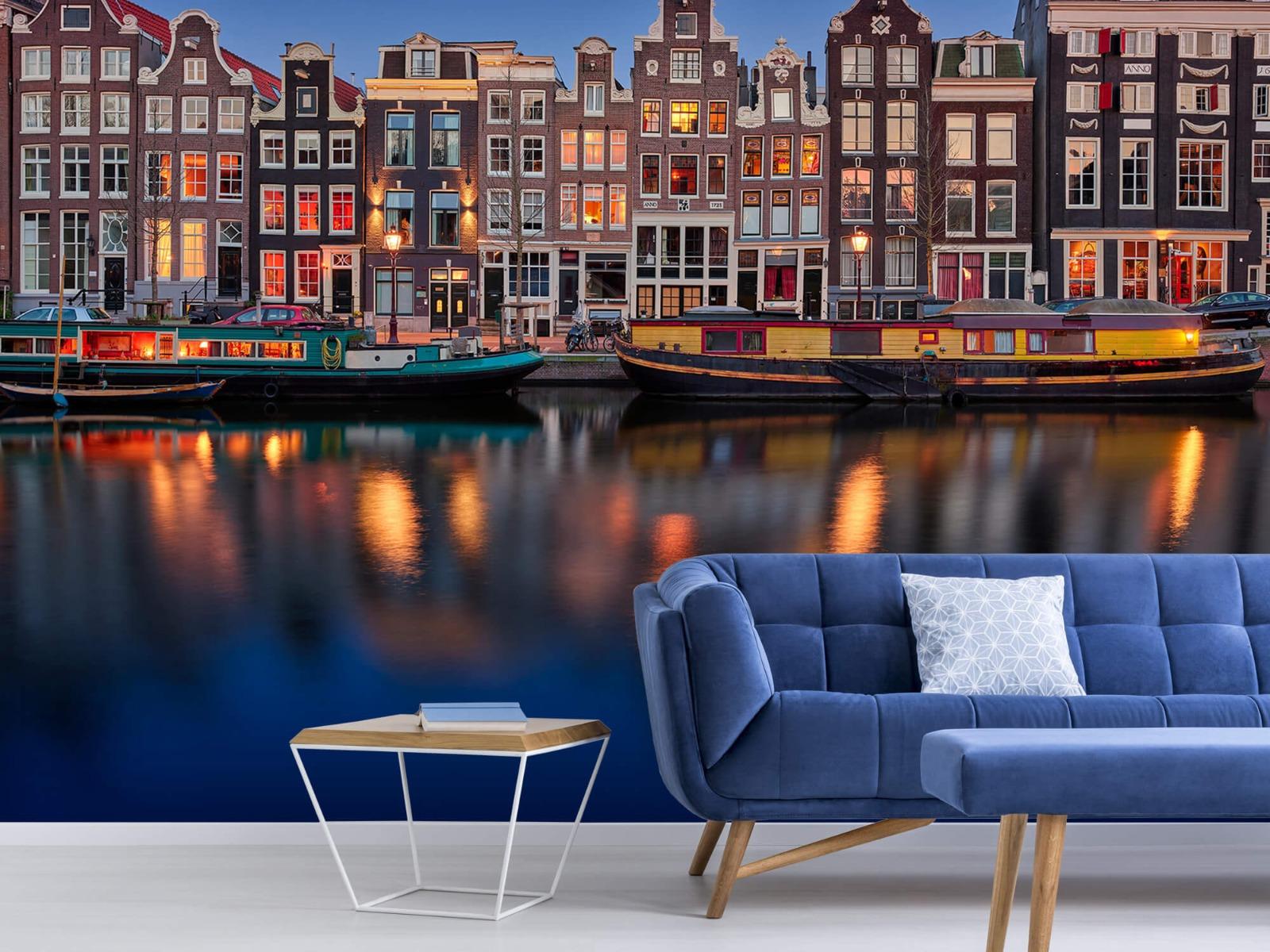 Architectuur - Grachtenpanden Amsterdam - Tienerkamer 1