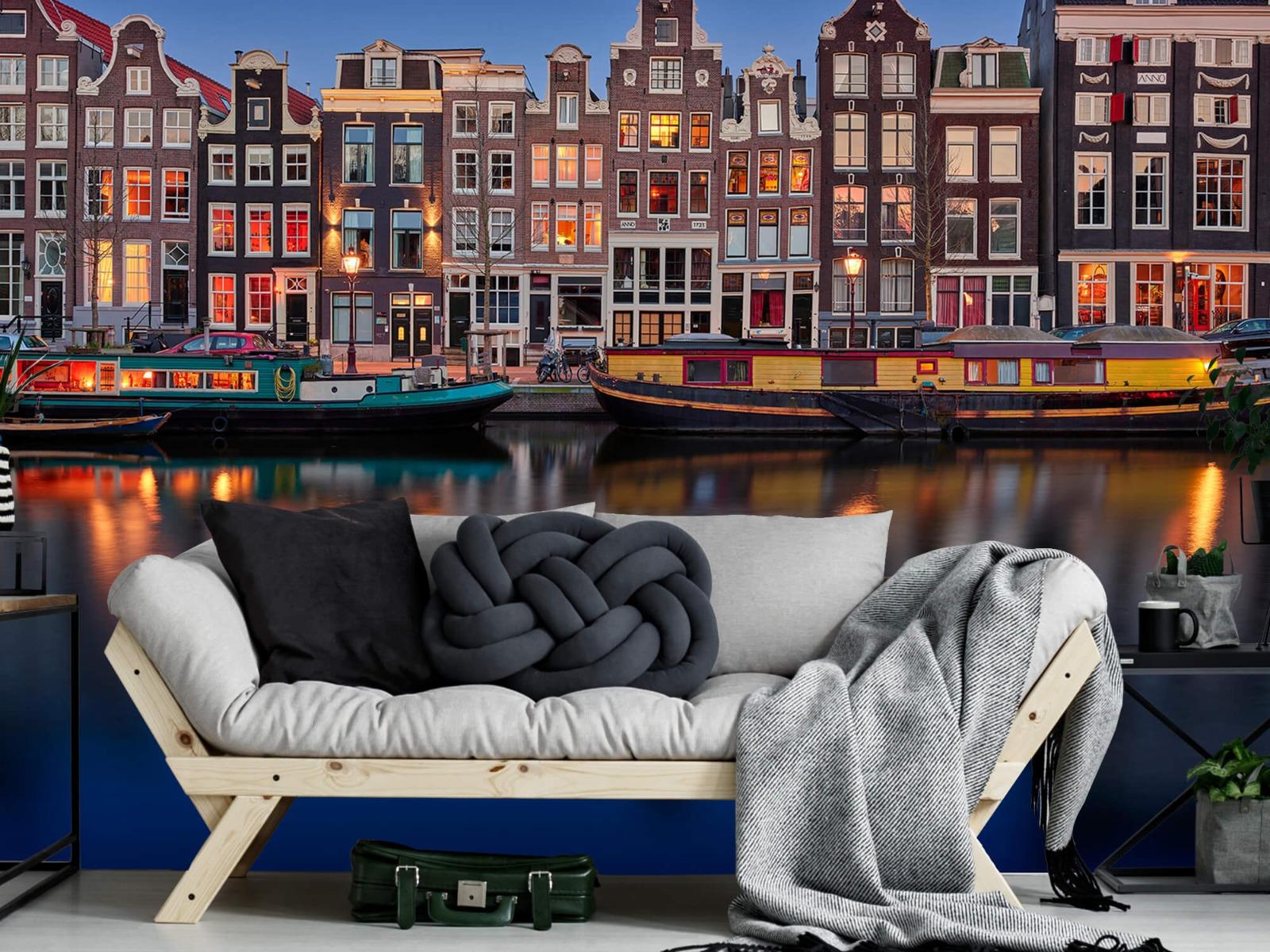 Architectuur - Grachtenpanden Amsterdam - Tienerkamer 6