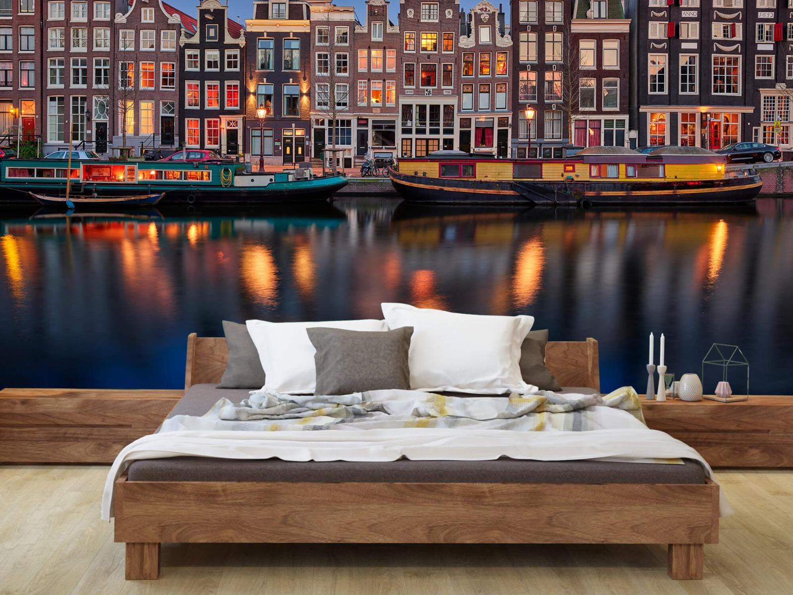 Architectuur - Grachtenpanden Amsterdam - Tienerkamer 7