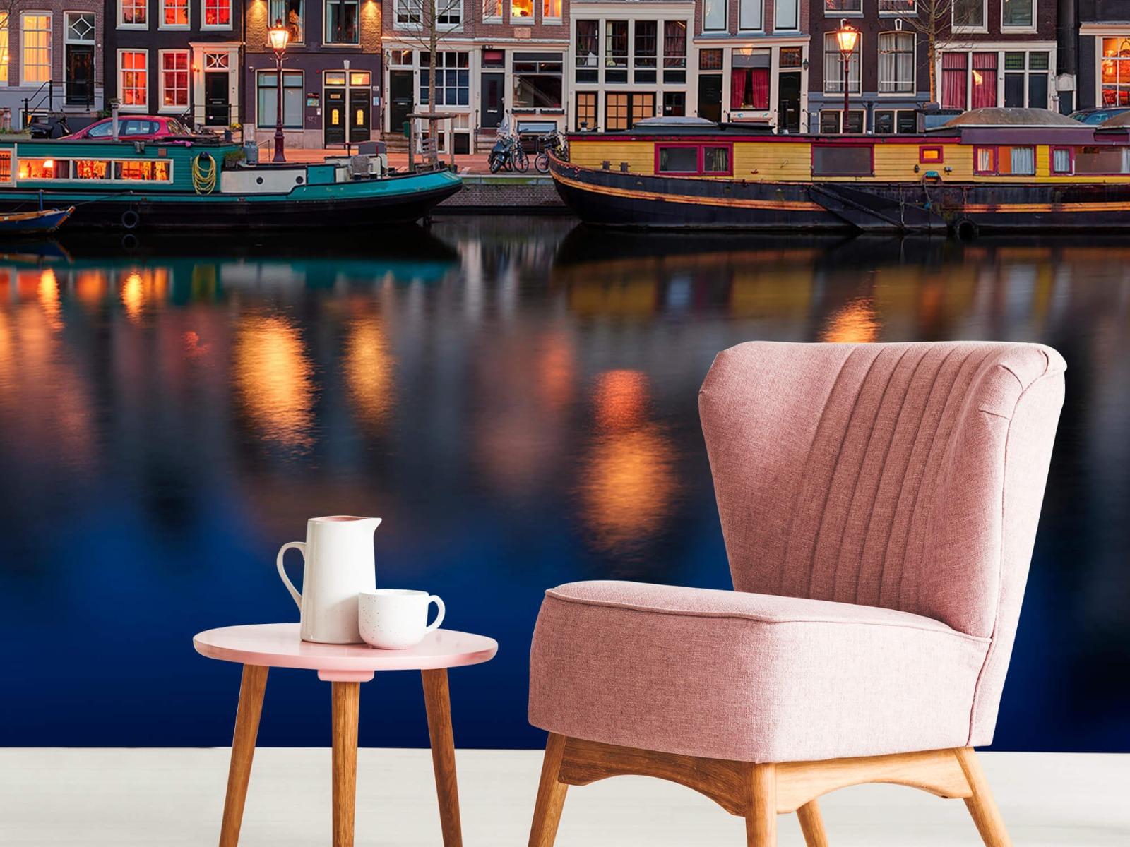 Architectuur - Grachtenpanden Amsterdam - Tienerkamer 8