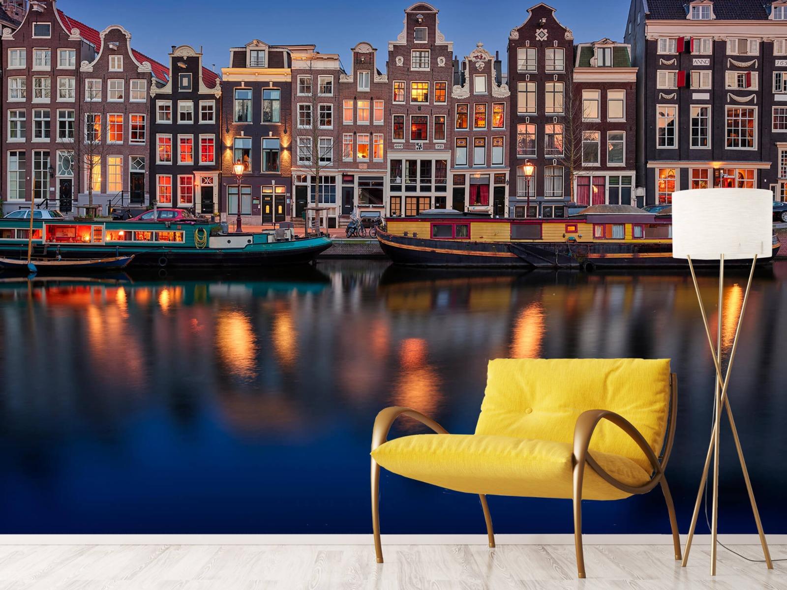 Architectuur - Grachtenpanden Amsterdam - Tienerkamer 10