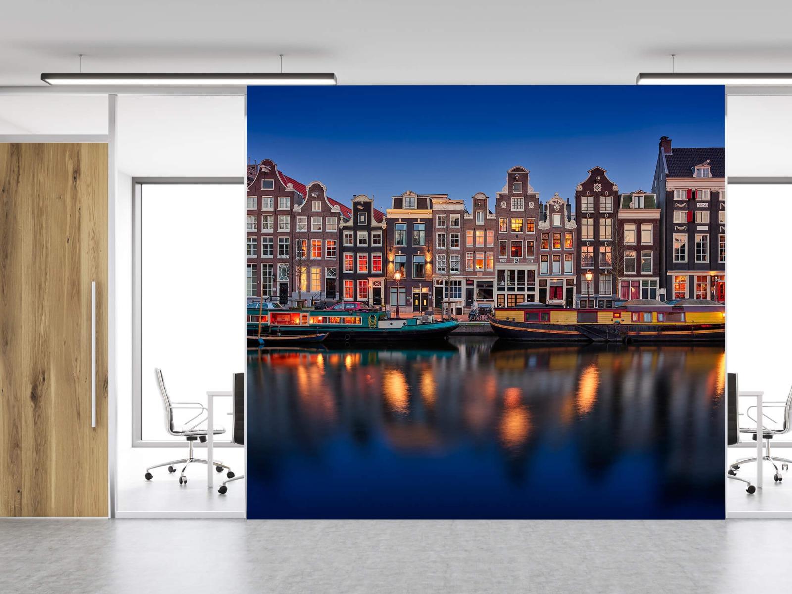 Architectuur - Grachtenpanden Amsterdam - Tienerkamer 11