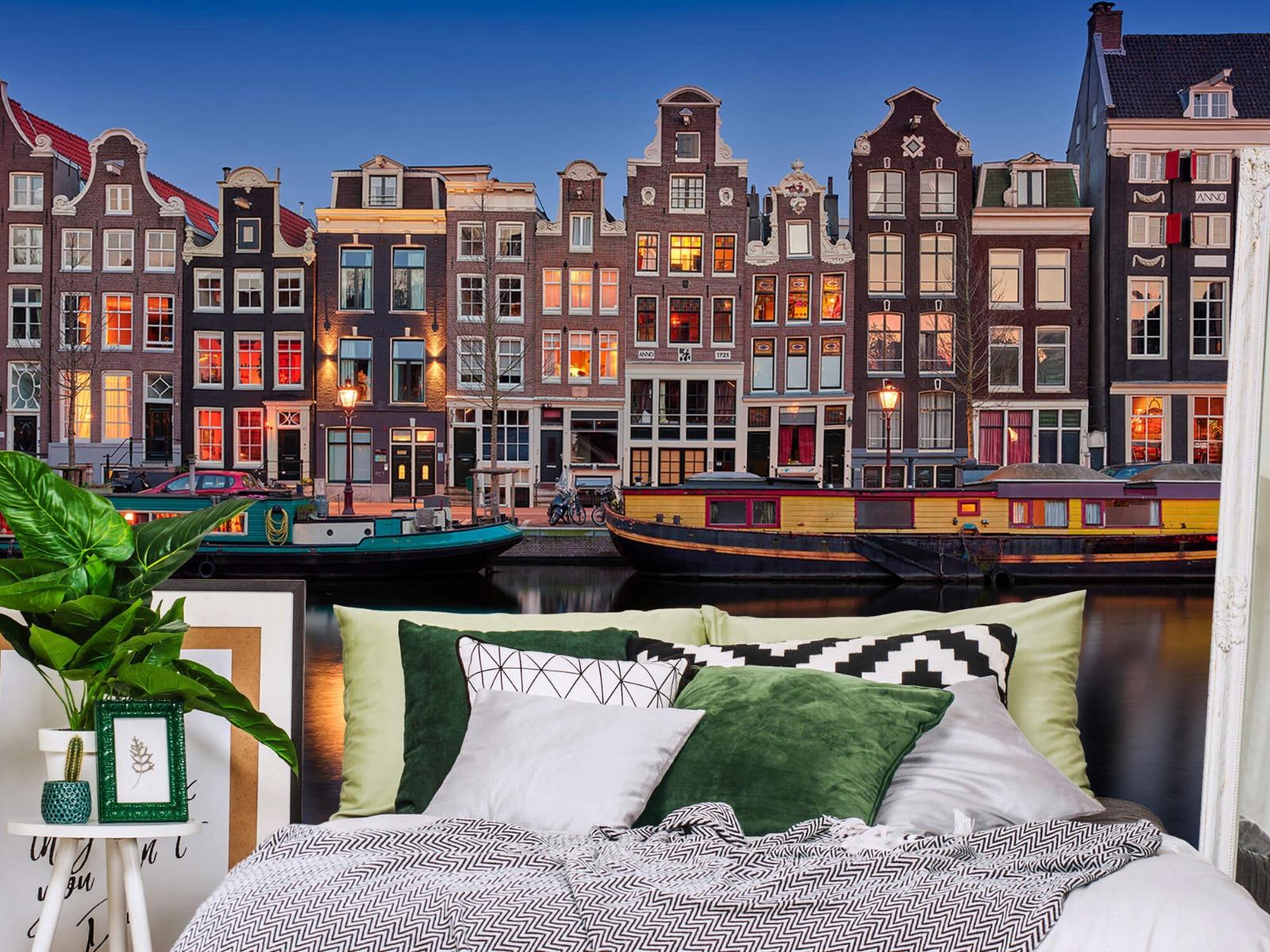 Architectuur - Grachtenpanden Amsterdam - Tienerkamer 12
