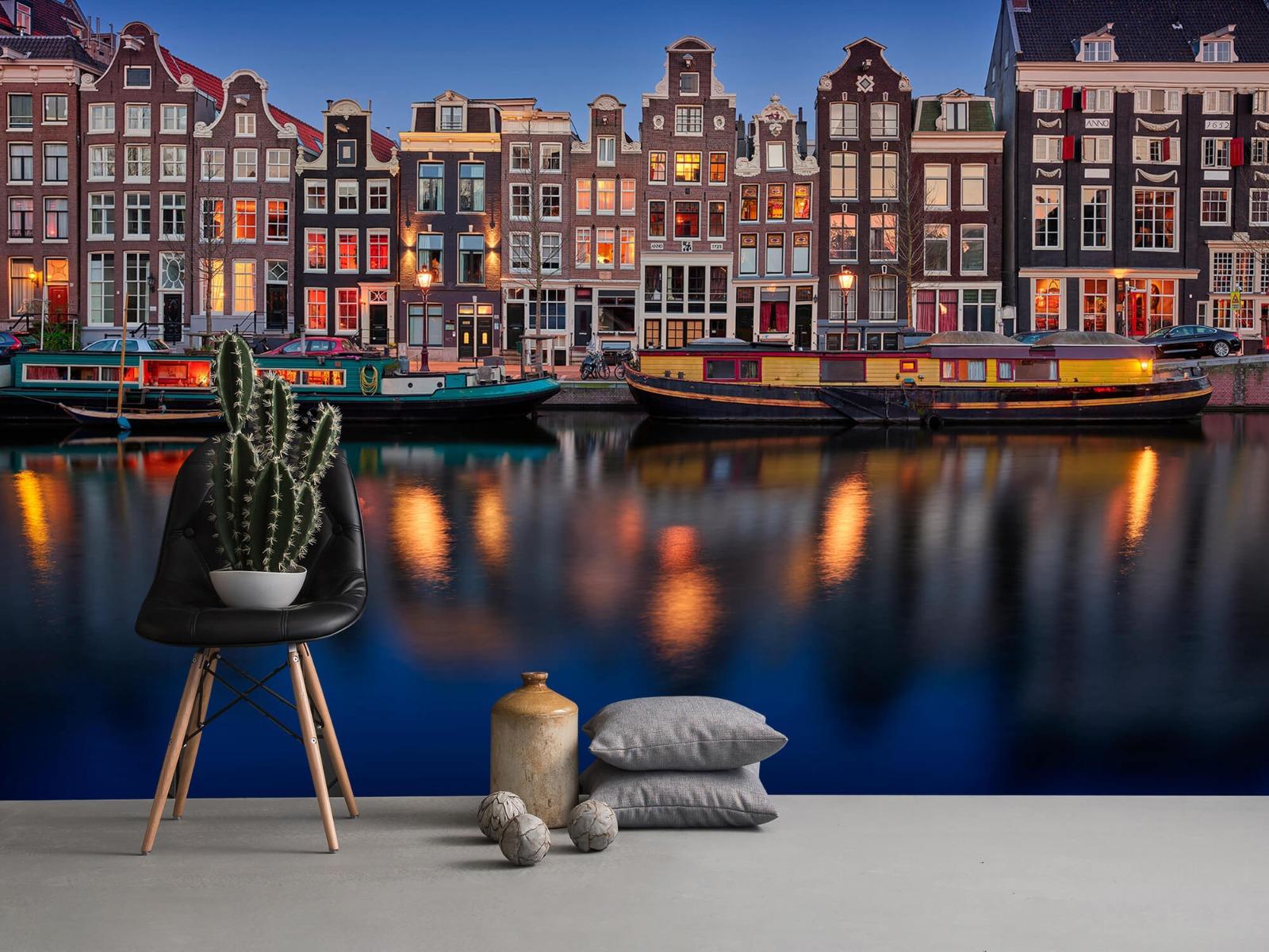Architectuur - Grachtenpanden Amsterdam - Tienerkamer 13