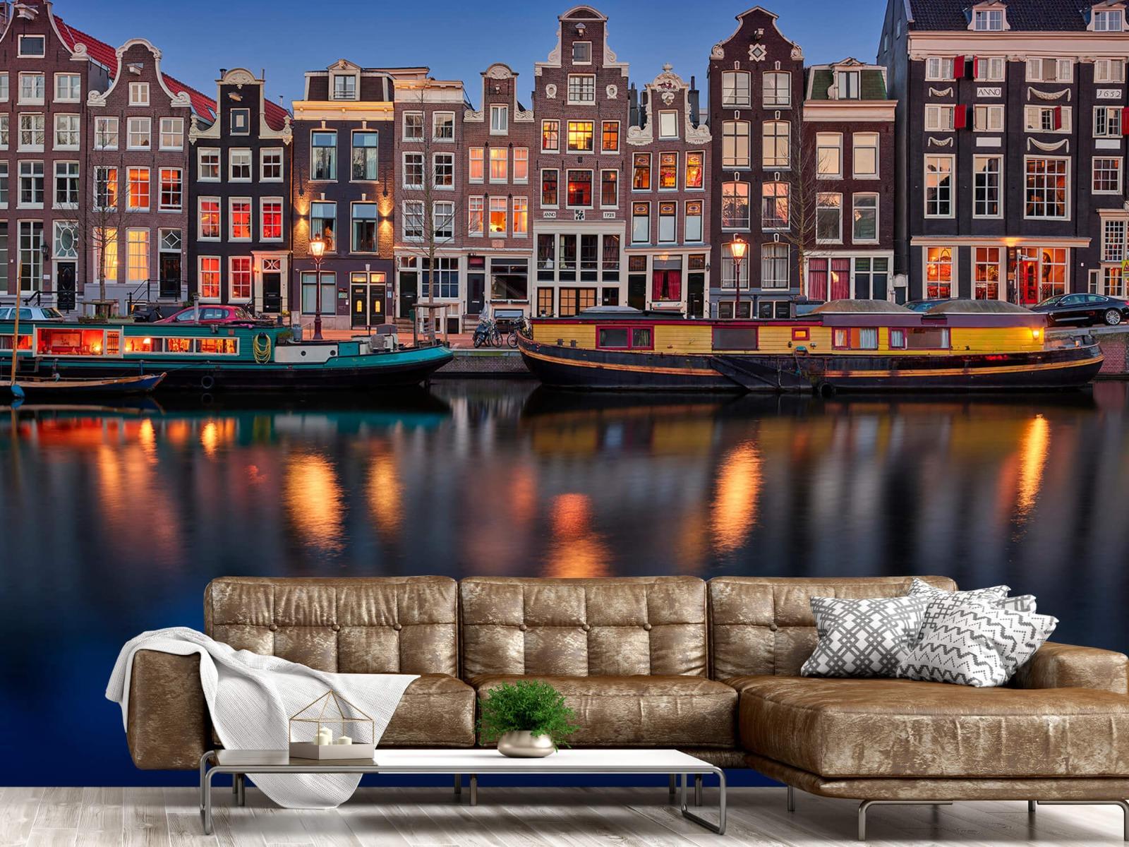Architectuur - Grachtenpanden Amsterdam - Tienerkamer 14