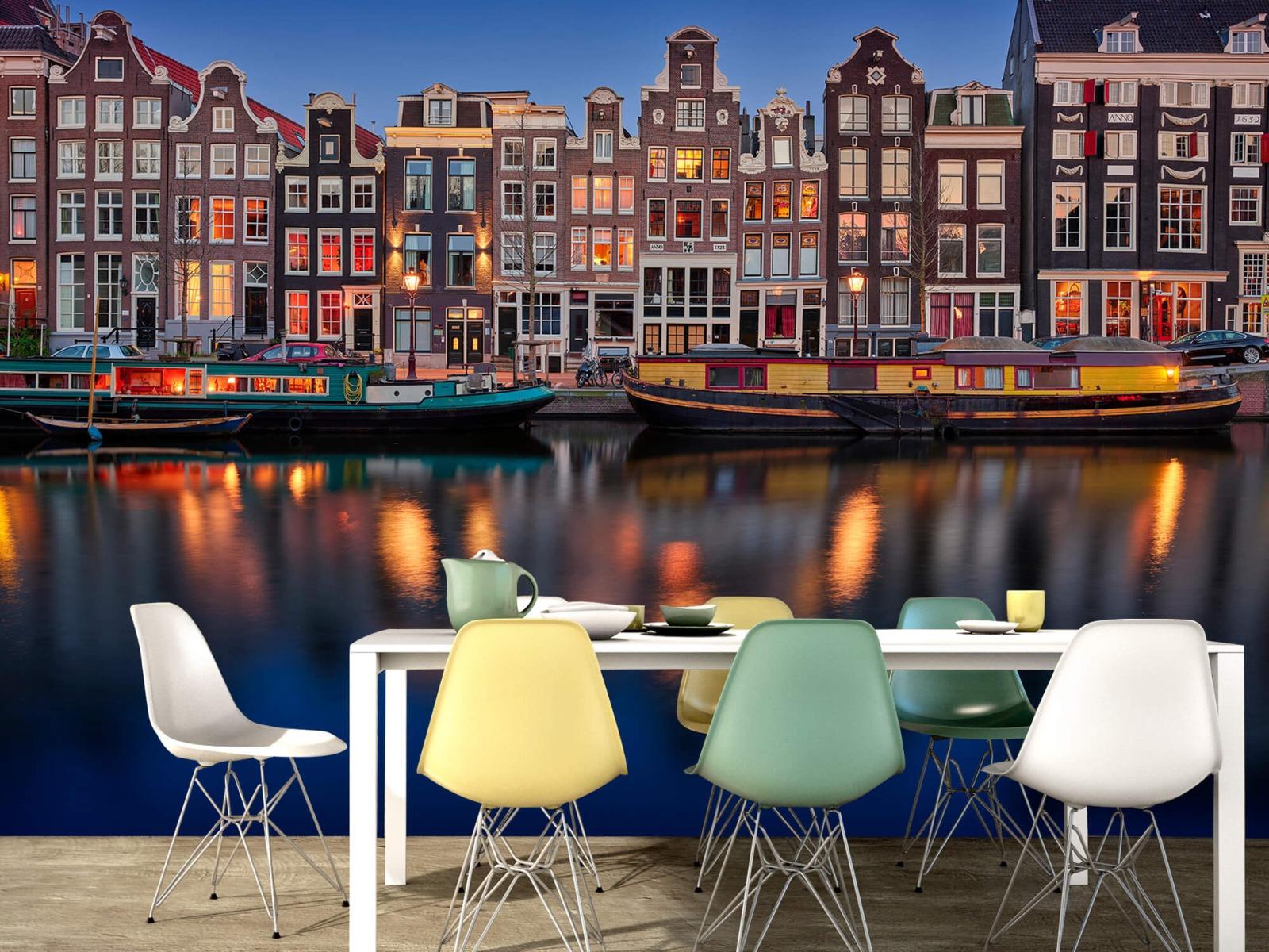 Architectuur - Grachtenpanden Amsterdam - Tienerkamer 15