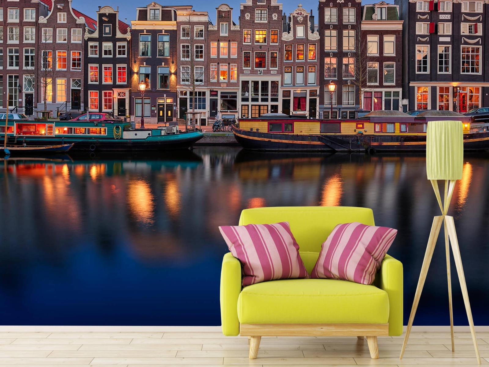 Architectuur - Grachtenpanden Amsterdam - Tienerkamer 17