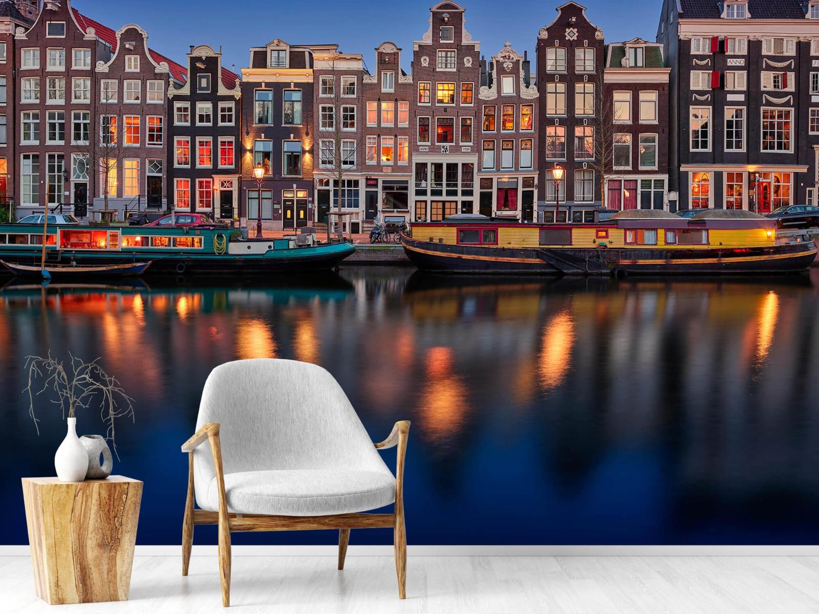 Architectuur - Grachtenpanden Amsterdam - Tienerkamer 18