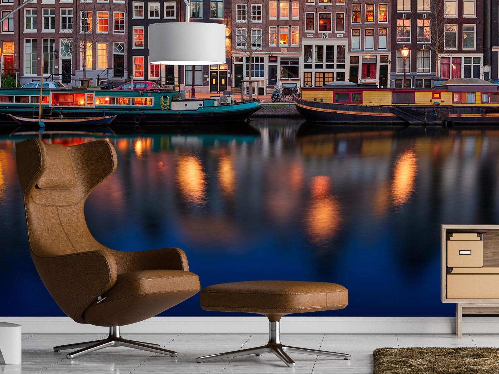 Architectuur - Grachtenpanden Amsterdam - Tienerkamer 19