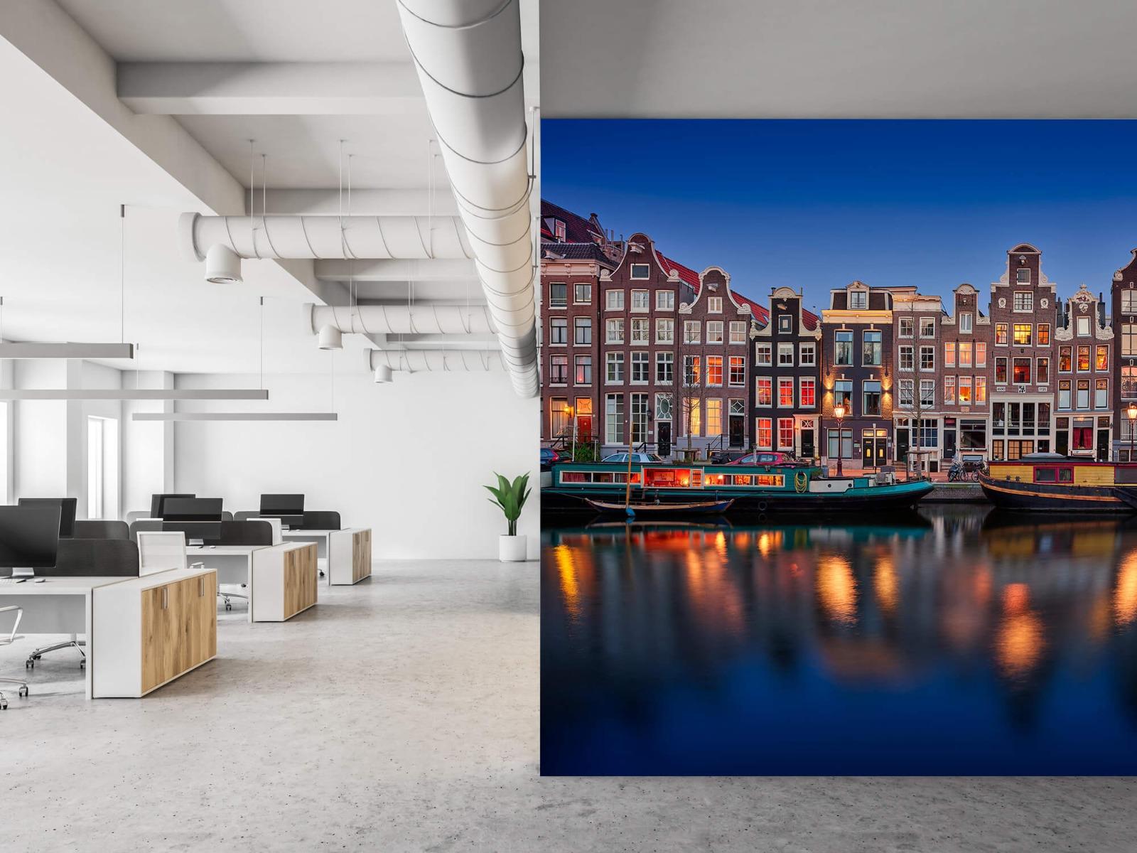 Architectuur - Grachtenpanden Amsterdam - Tienerkamer 21