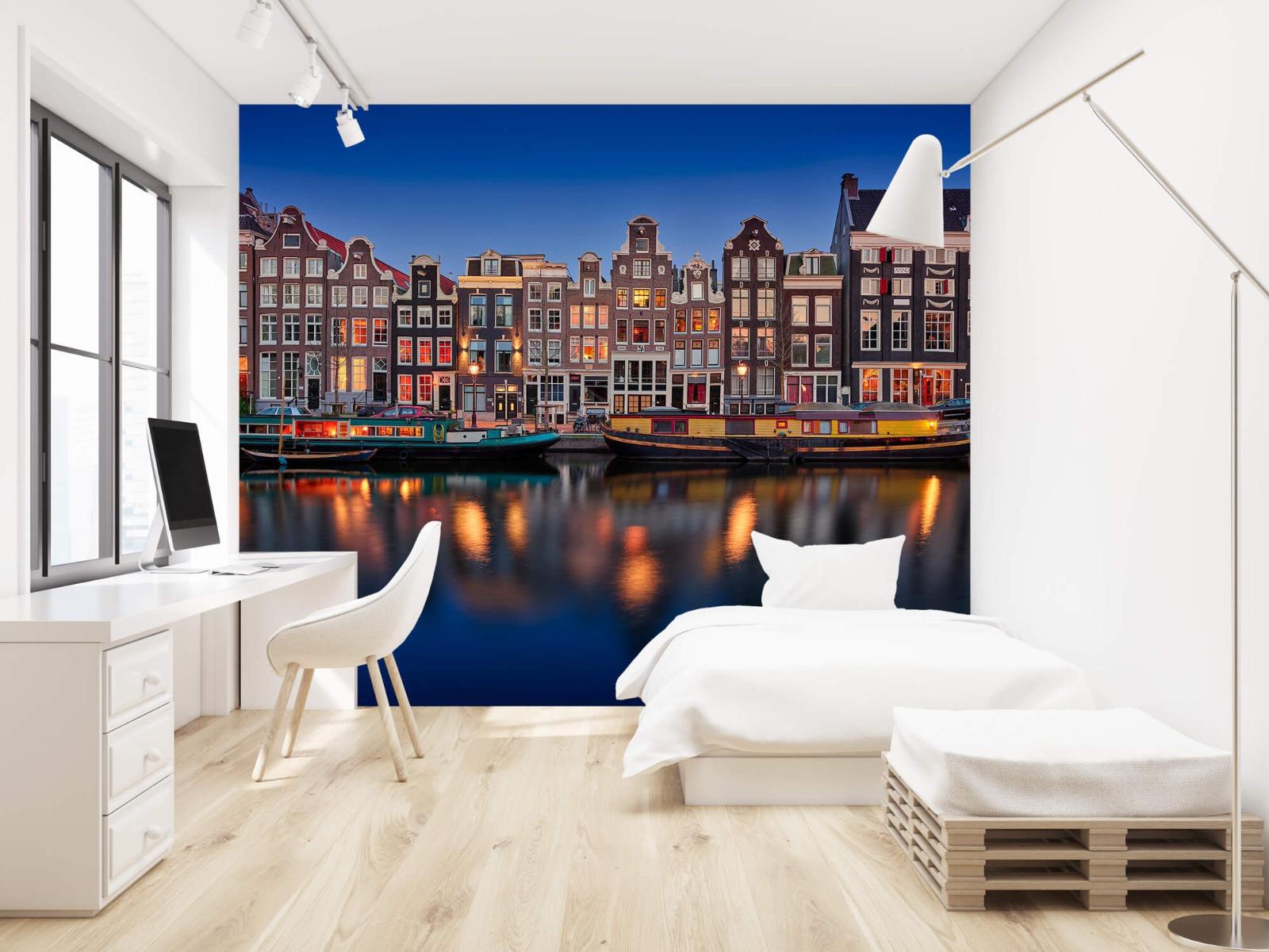Architectuur - Grachtenpanden Amsterdam - Tienerkamer 22
