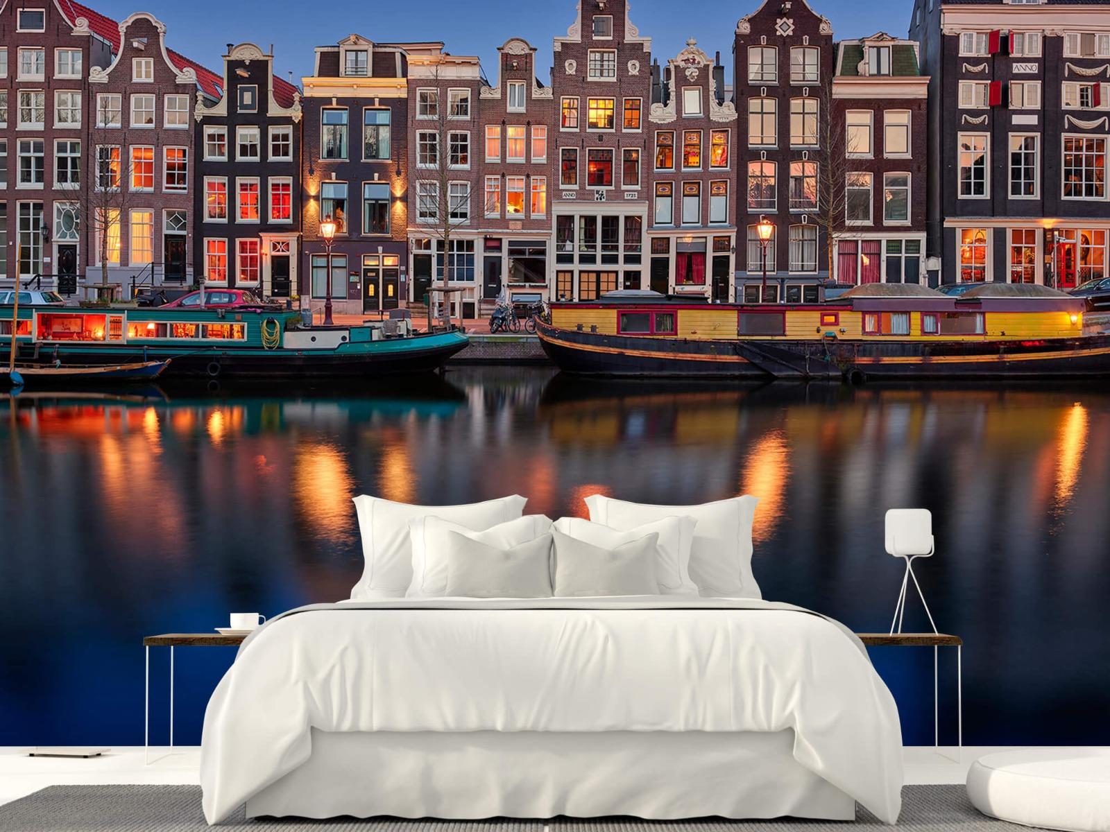 Architectuur - Grachtenpanden Amsterdam - Tienerkamer 23