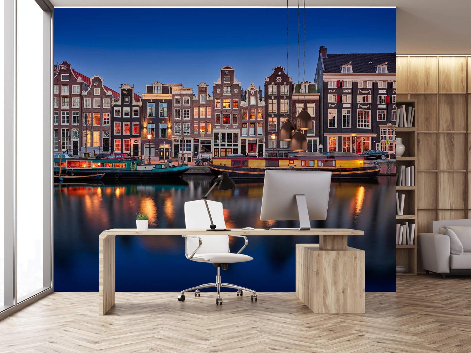 Architectuur - Grachtenpanden Amsterdam - Tienerkamer 24