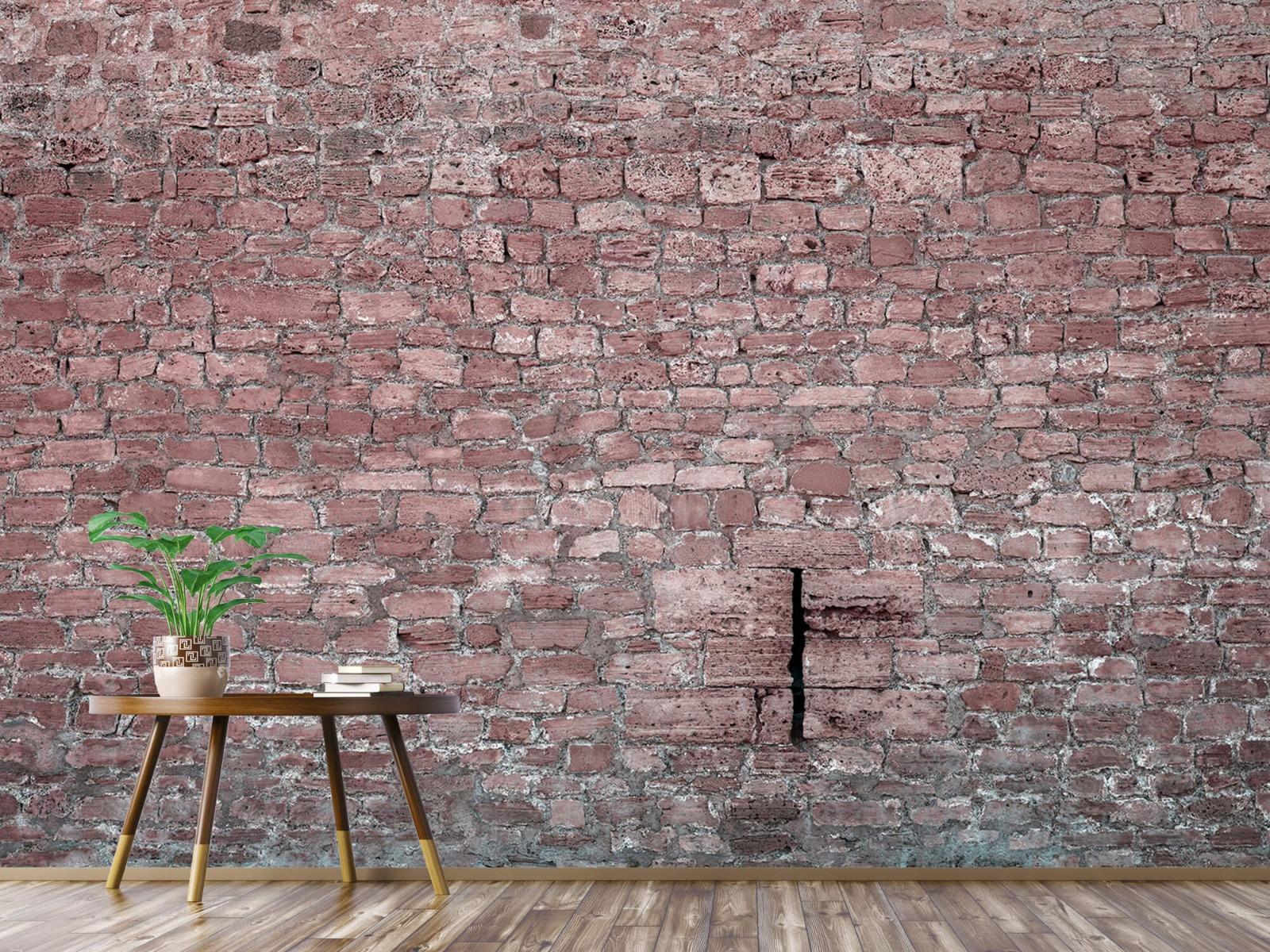 Steen behang - Muur van oude stenen - Tienerkamer 3