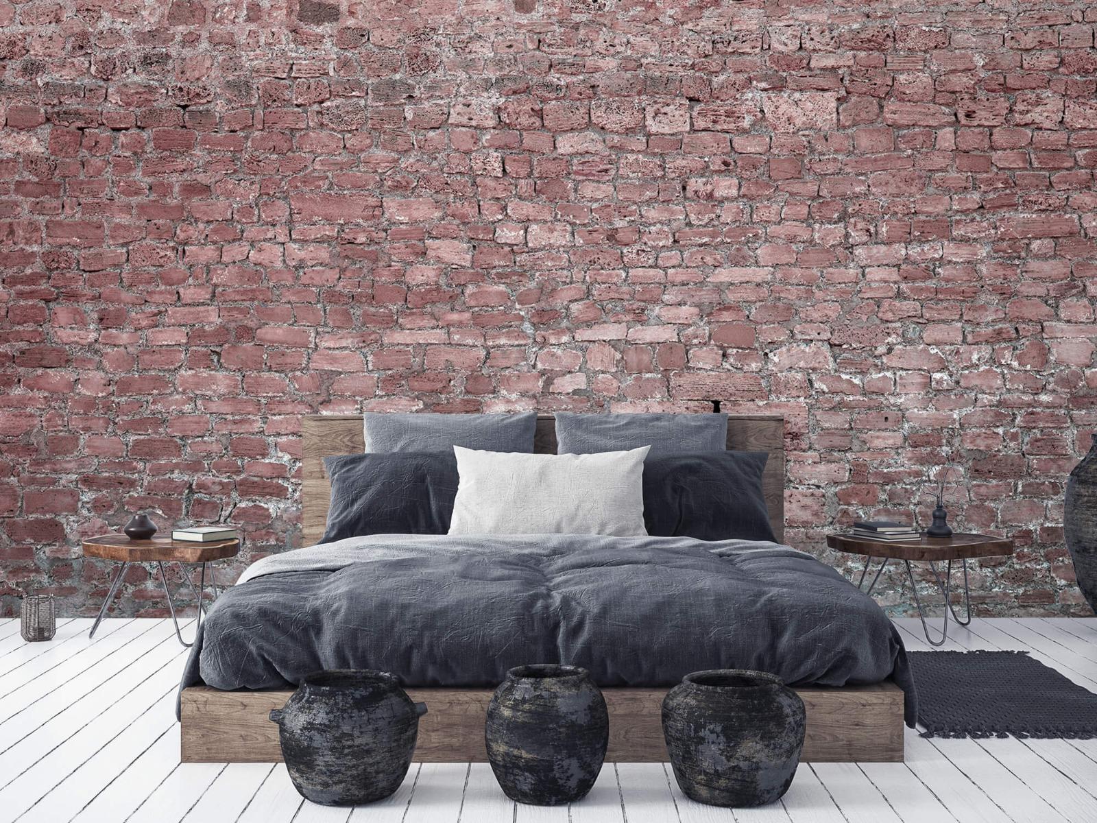 Steen behang - Muur van oude stenen - Tienerkamer 5