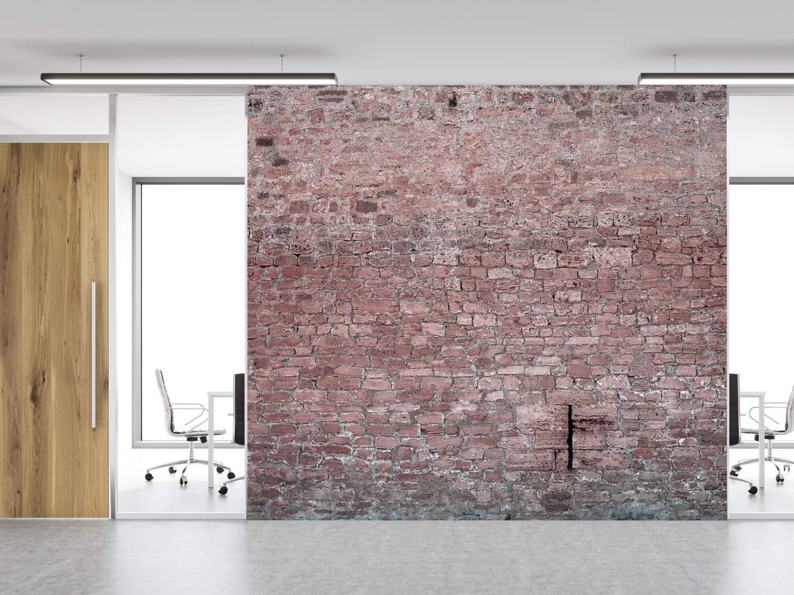 Steen behang - Muur van oude stenen - Tienerkamer 11