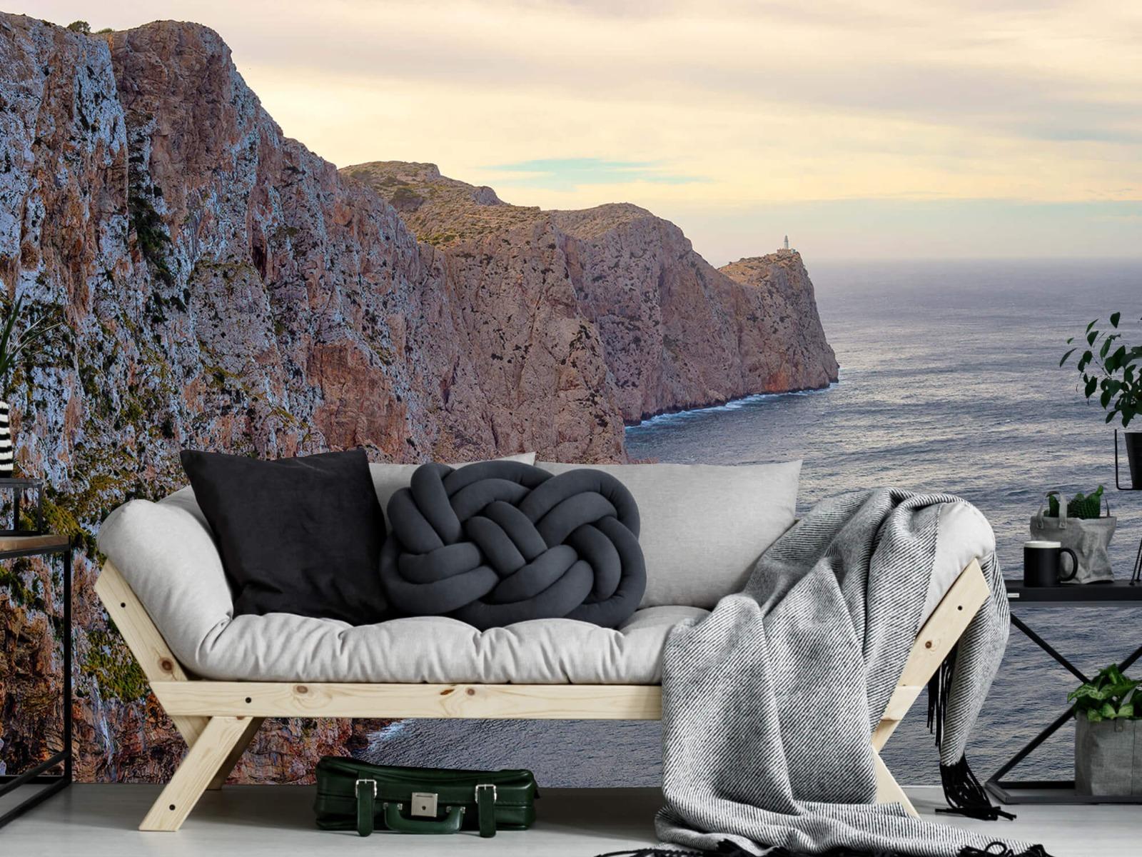 Zeeën en Oceanen - Rotswand aan de kust - Ontvangstruimte 8