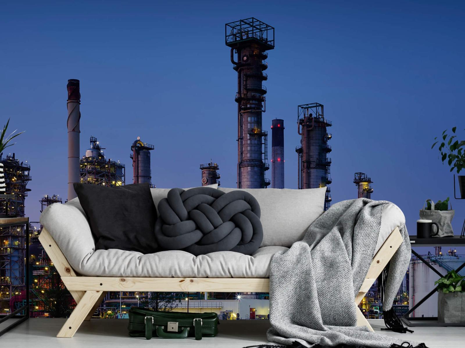 Steden behang - Industrie Botlek - Hobbykamer 6