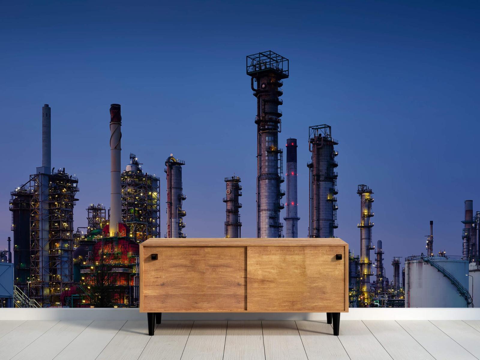 Steden behang - Industrie Botlek - Hobbykamer 9