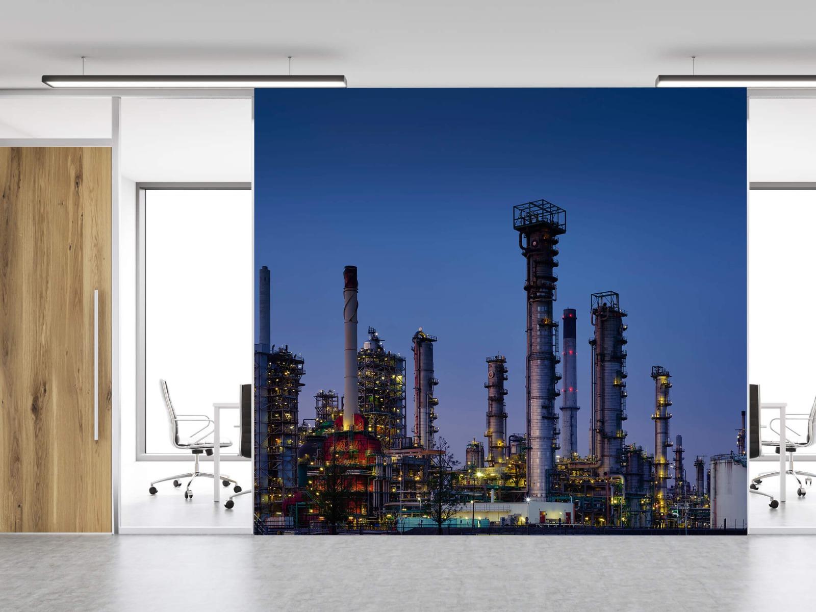 Steden behang - Industrie Botlek - Hobbykamer 11