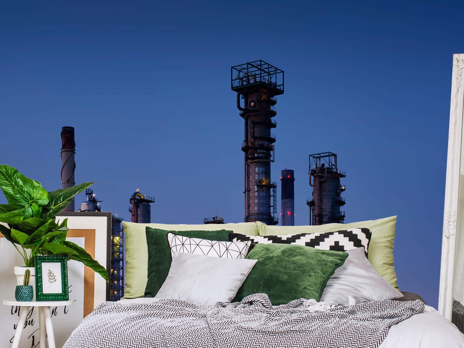 Steden behang - Industrie Botlek - Hobbykamer 12