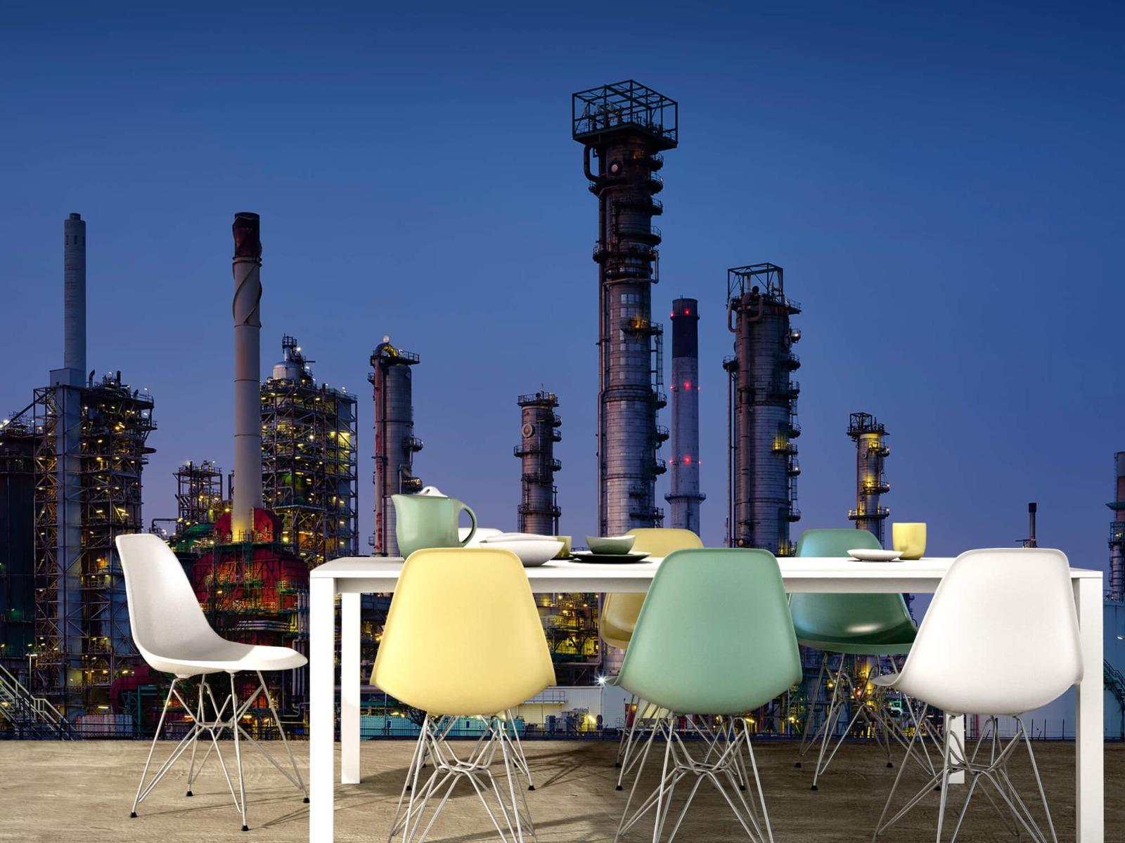 Steden behang - Industrie Botlek - Hobbykamer 15
