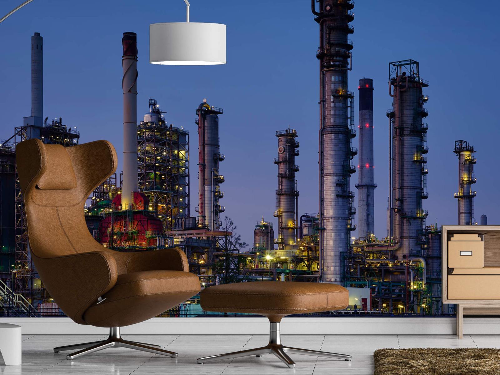 Steden behang - Industrie Botlek - Hobbykamer 19
