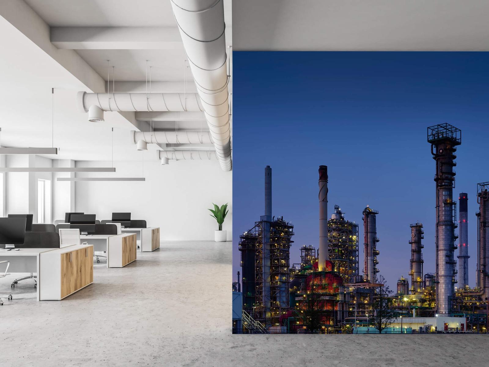 Steden behang - Industrie Botlek - Hobbykamer 21