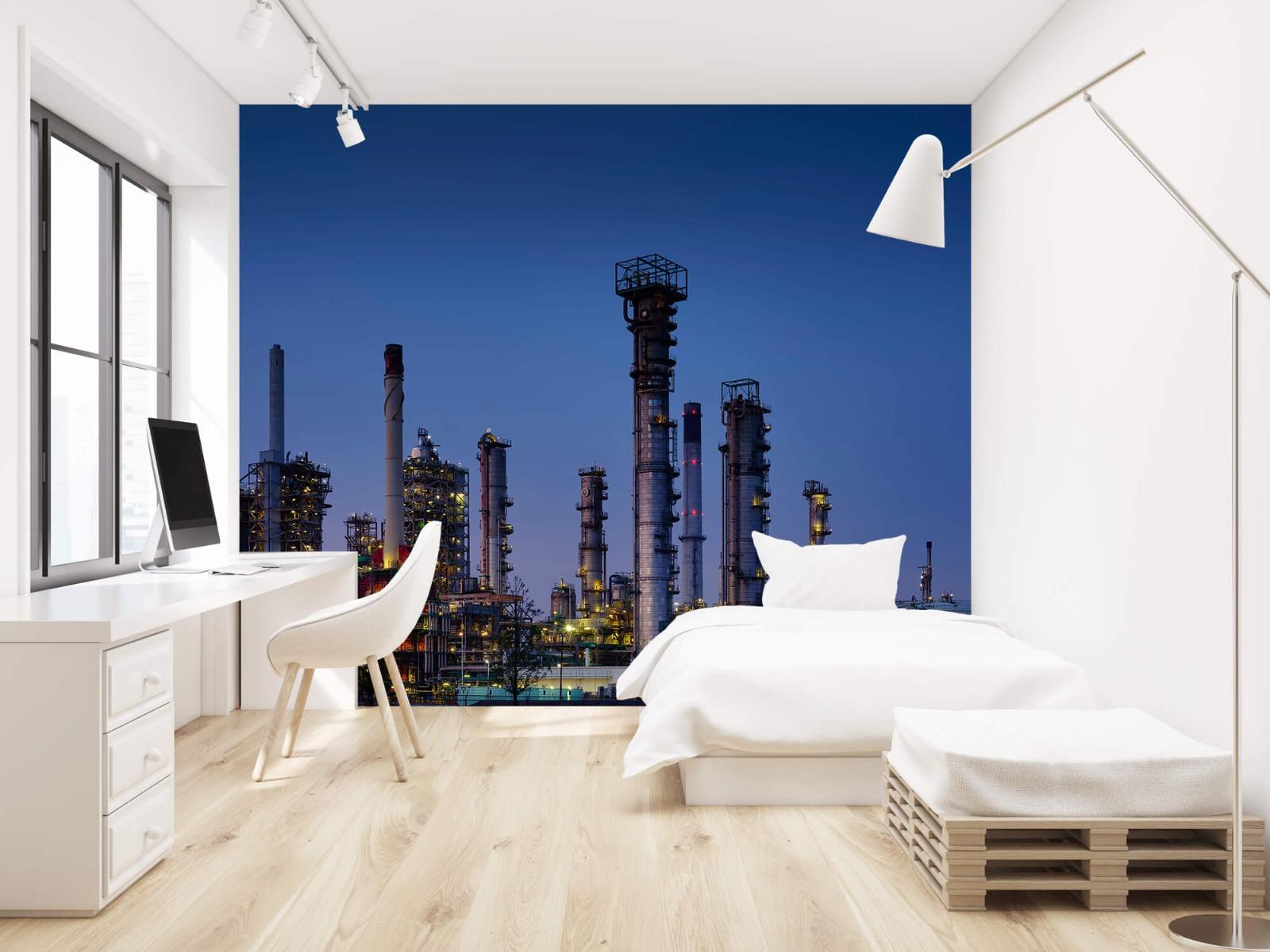 Steden behang - Industrie Botlek - Hobbykamer 22
