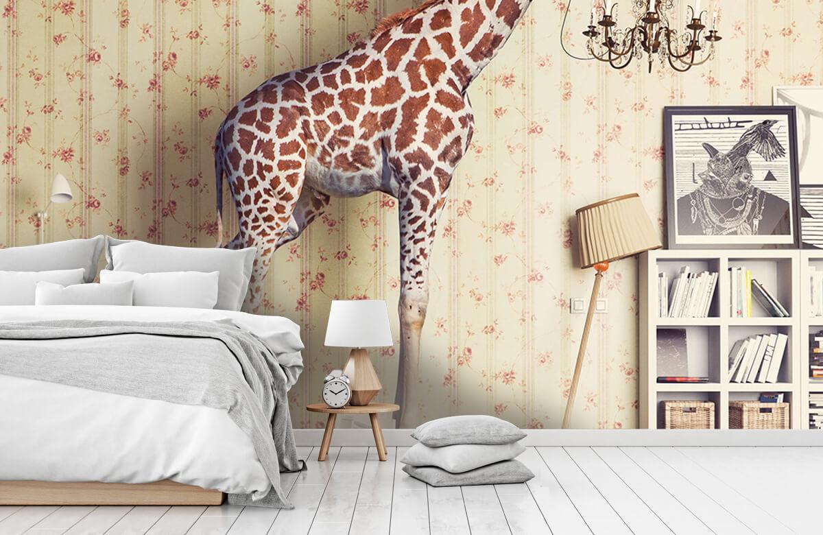 3D Giraffe in de woonkamer 7