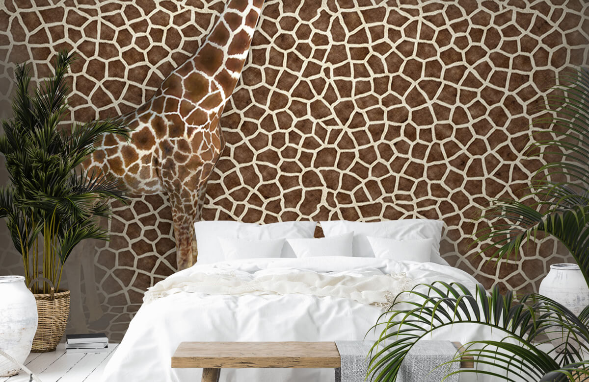 3D Gecamoufleerde giraffe 6