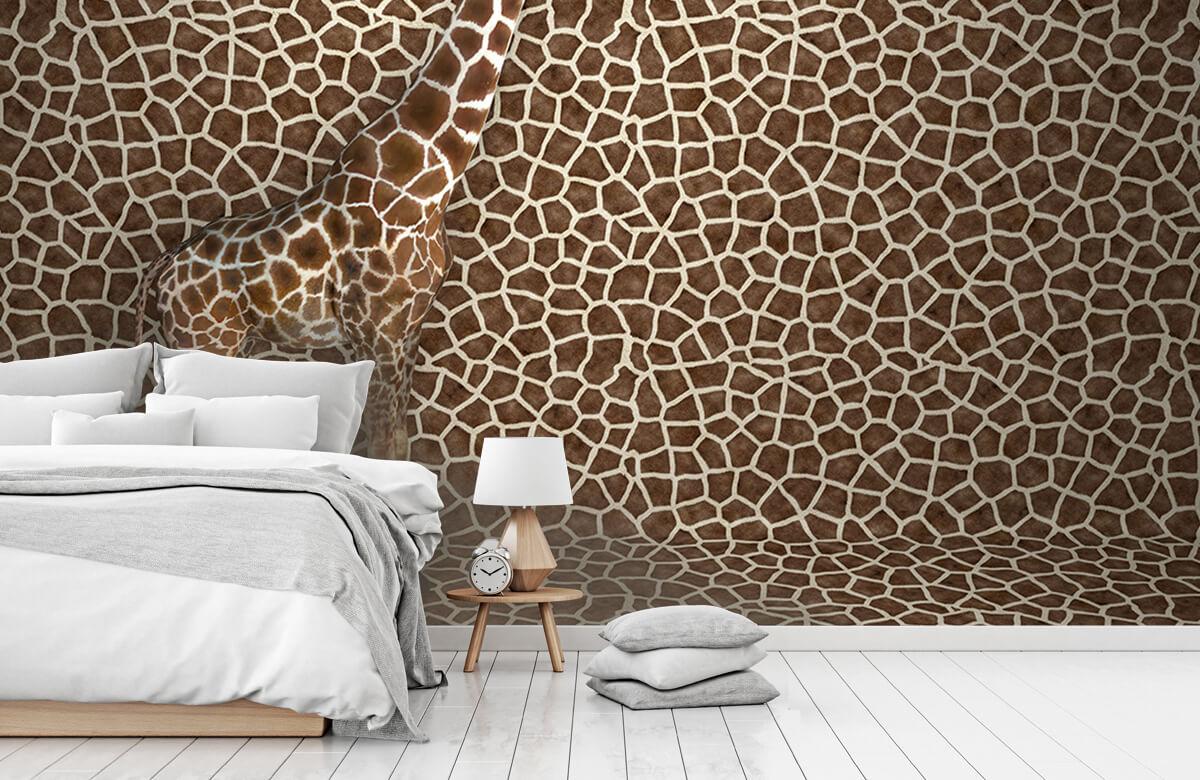 3D Gecamoufleerde giraffe 7