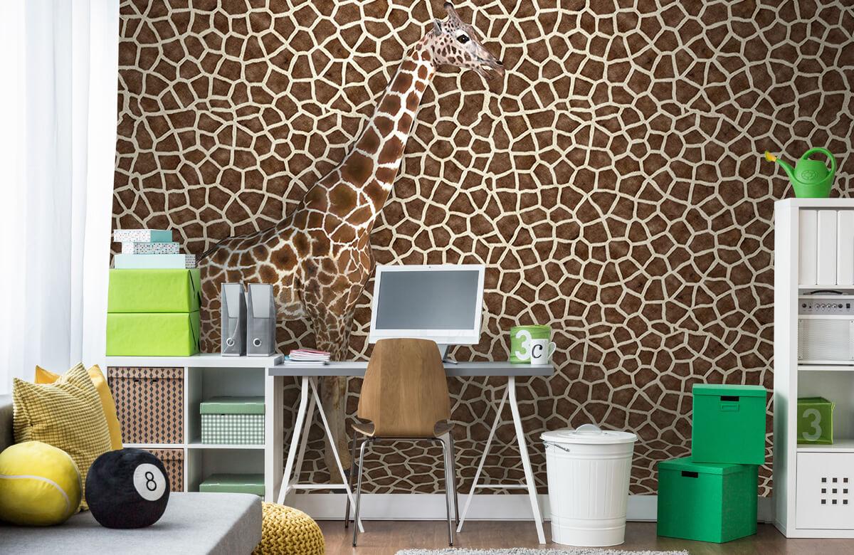 3D Gecamoufleerde giraffe 9