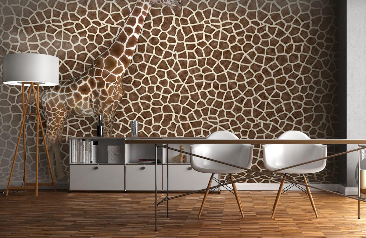 3D Gecamoufleerde giraffe 11