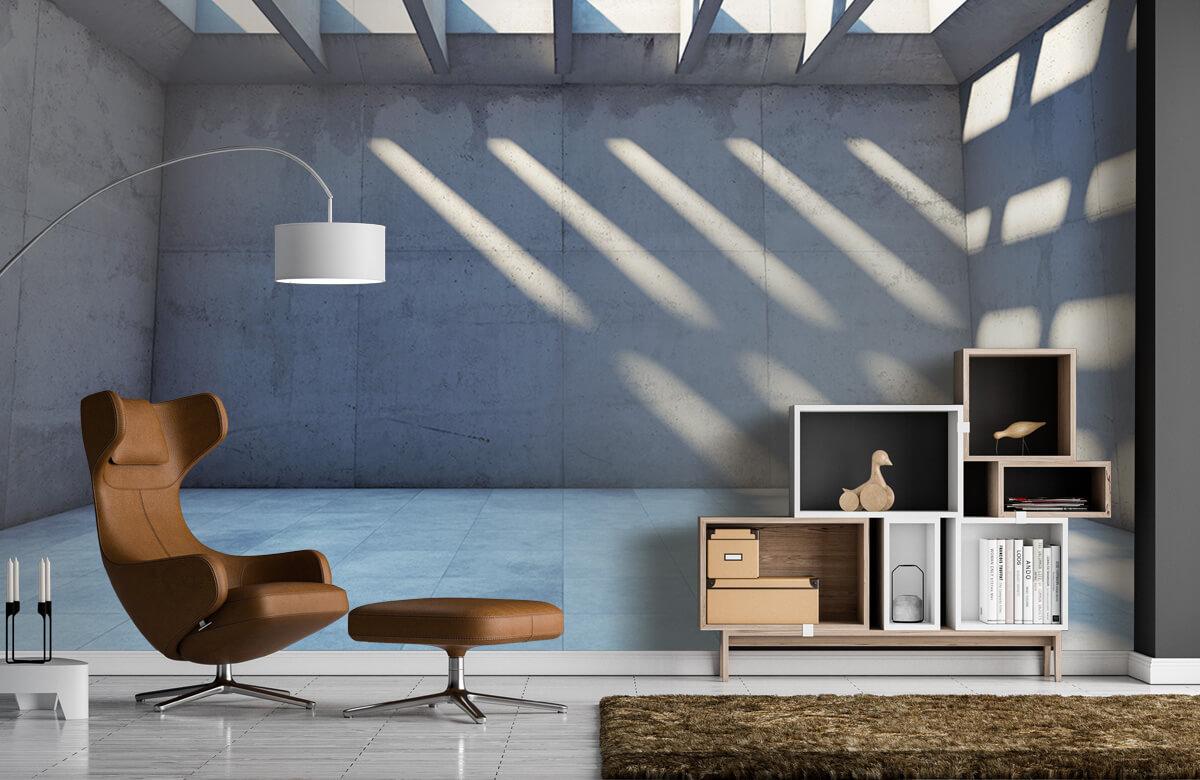 3D Lege ruimte met open dak 6