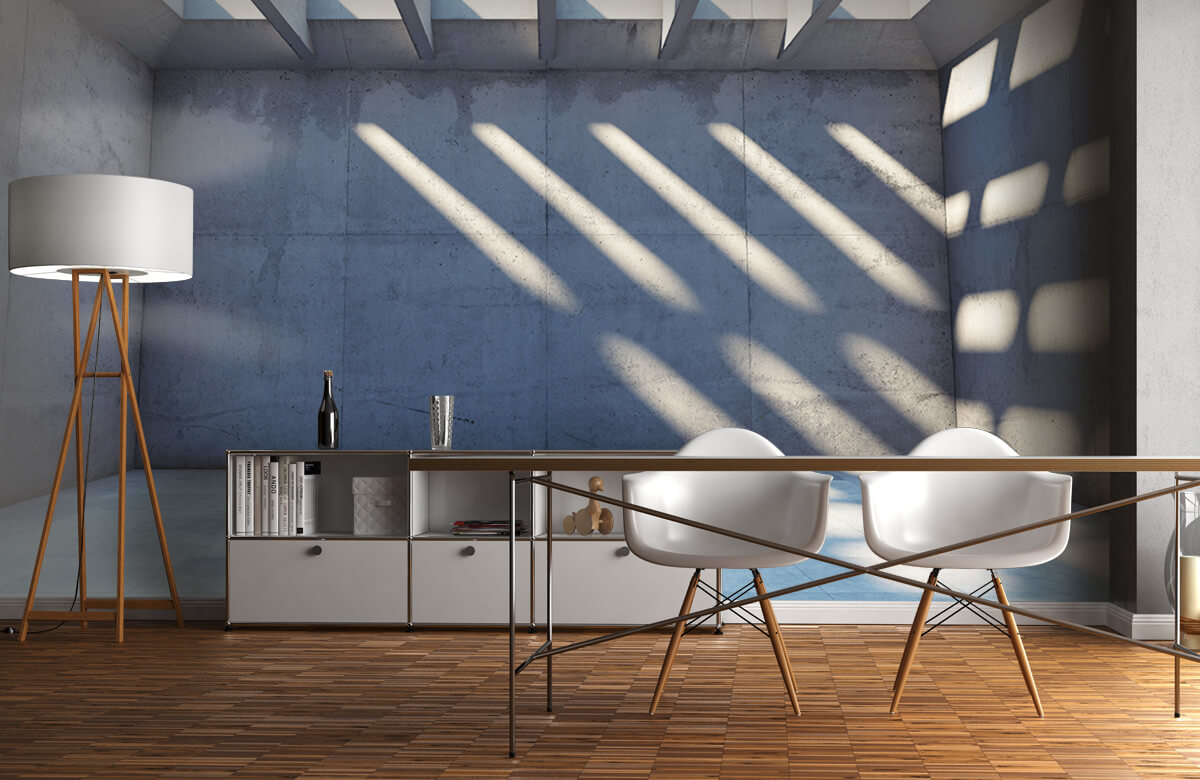 3D Lege ruimte met open dak 11
