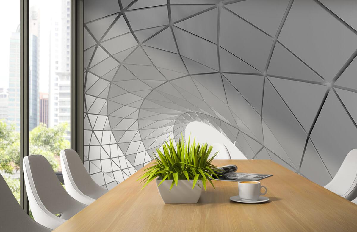3D Gebogen tunnel 4
